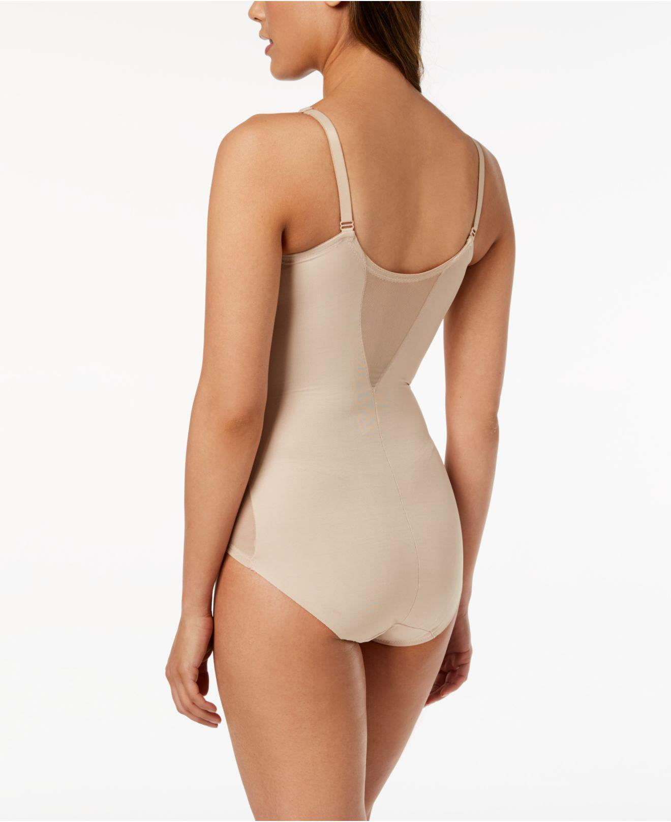 f5b9834bedb Miraclesuit Extra Firm Control Sheer Trim Body Shaper 2783 in Natural - Save  7% - Lyst
