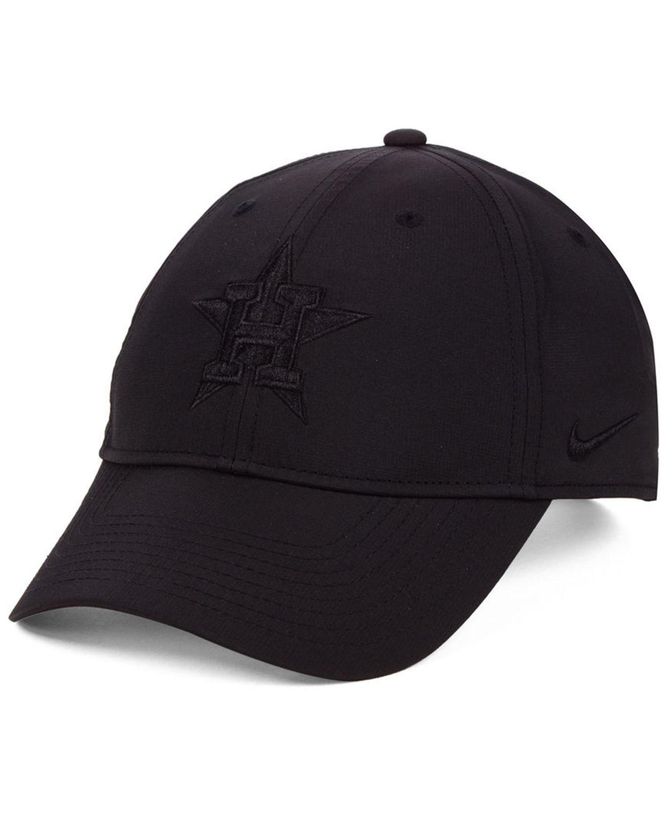 online store ff389 39695 ... where can i buy nike. mens black houston astros legacy performance  strapback cap 26648 f043b