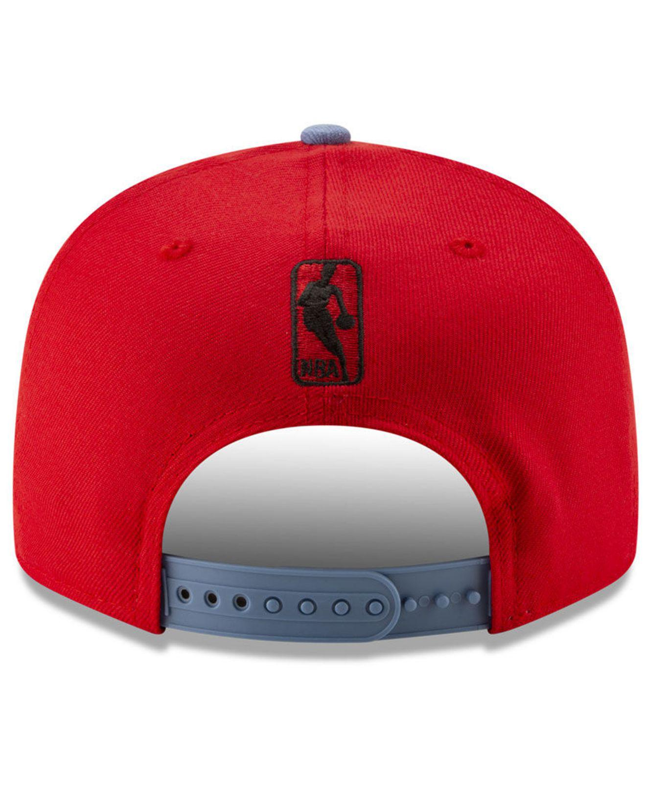 cheap for discount bafcf dbaf2 KTZ - Red Los Angeles Clippers Light City Combo 9fifty Snapback Cap for Men  - Lyst. View fullscreen