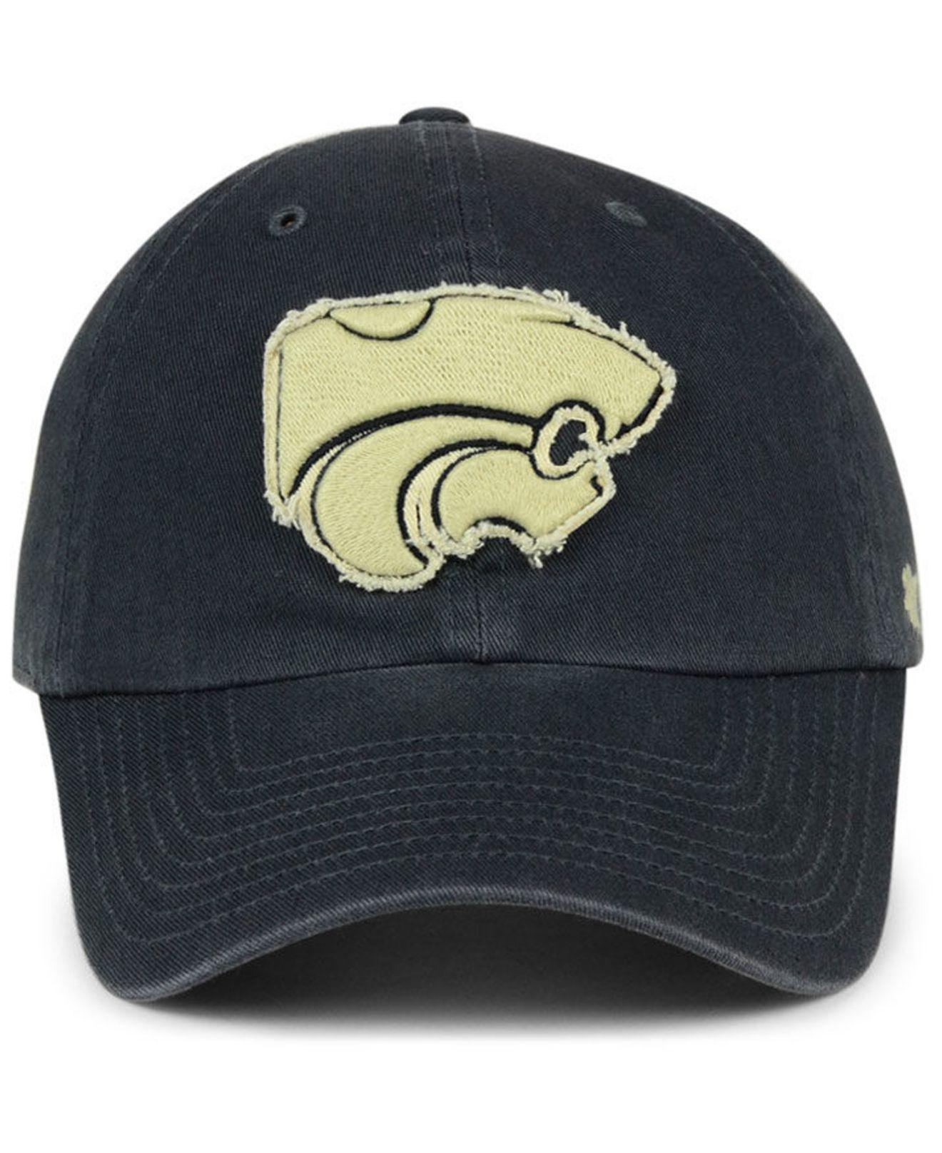 competitive price e34d7 a1a19 47 Brand Kansas State Wildcats Double Out Clean Up Cap in Blue for ...