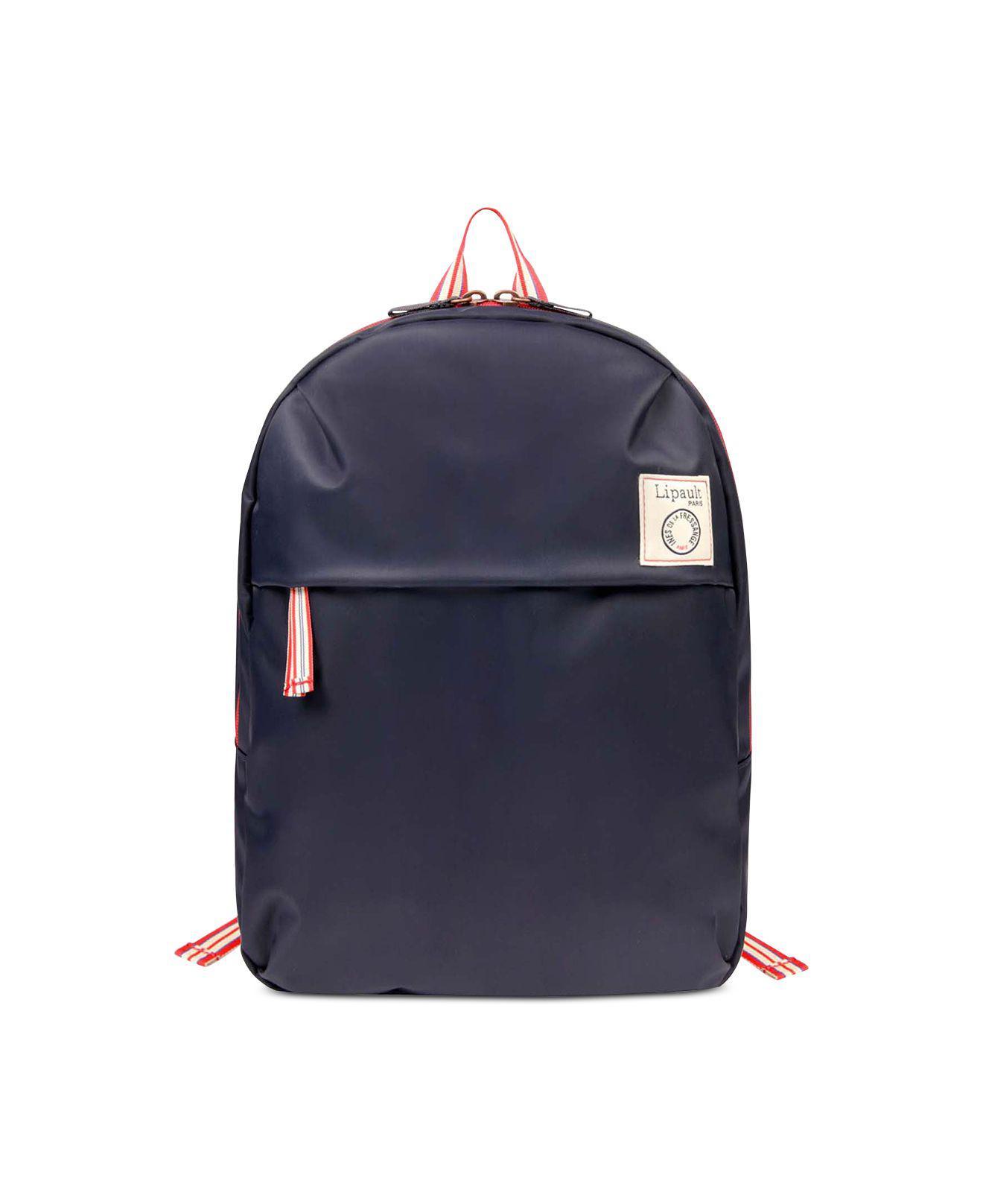 Lyst - Lipault Ines De La Fressange Backpack in Blue 87daf98b42f7d