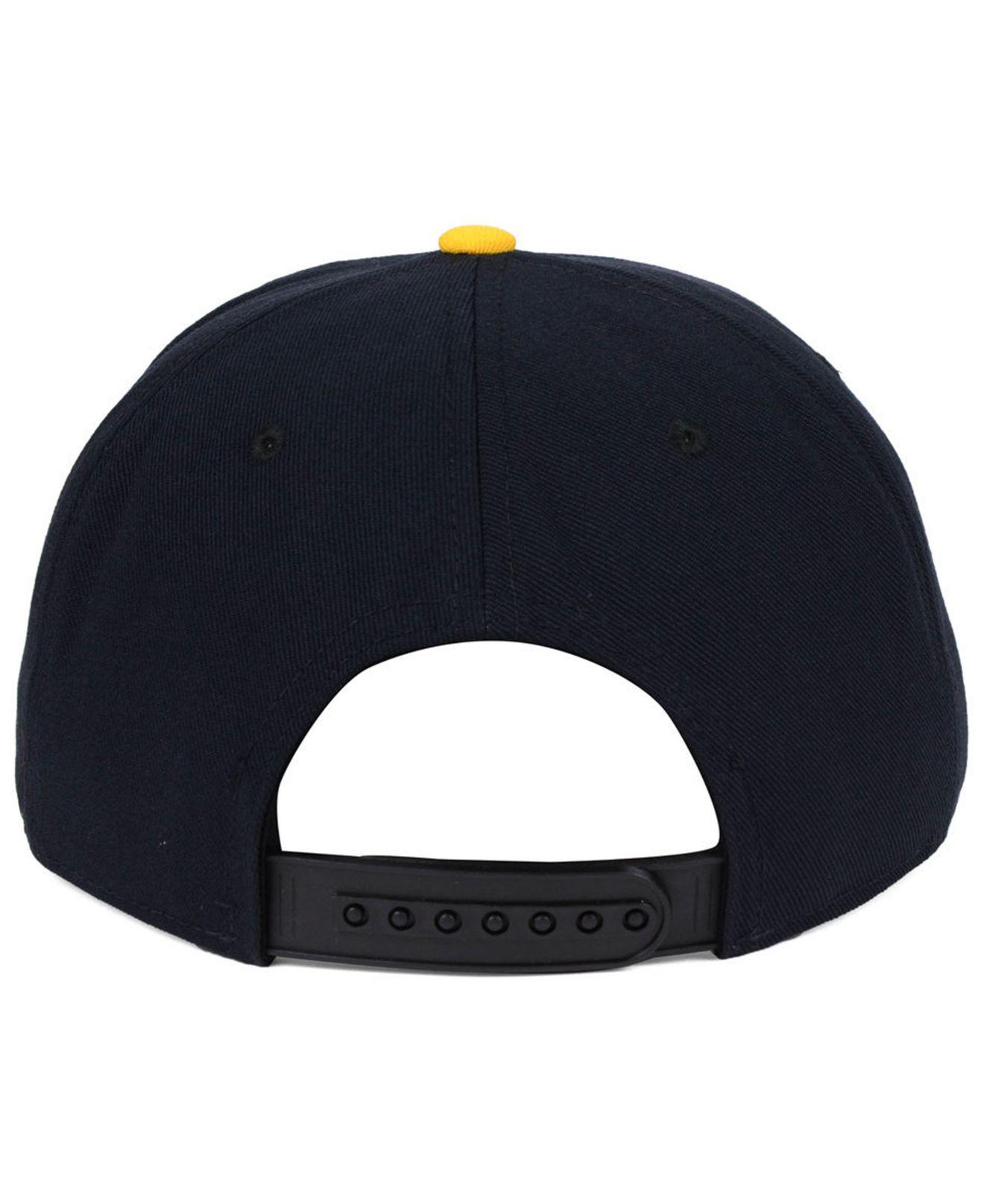 competitive price b3bc2 369be ... new style nike black pittsburgh pirates reverse new day snapback cap  for men lyst. view