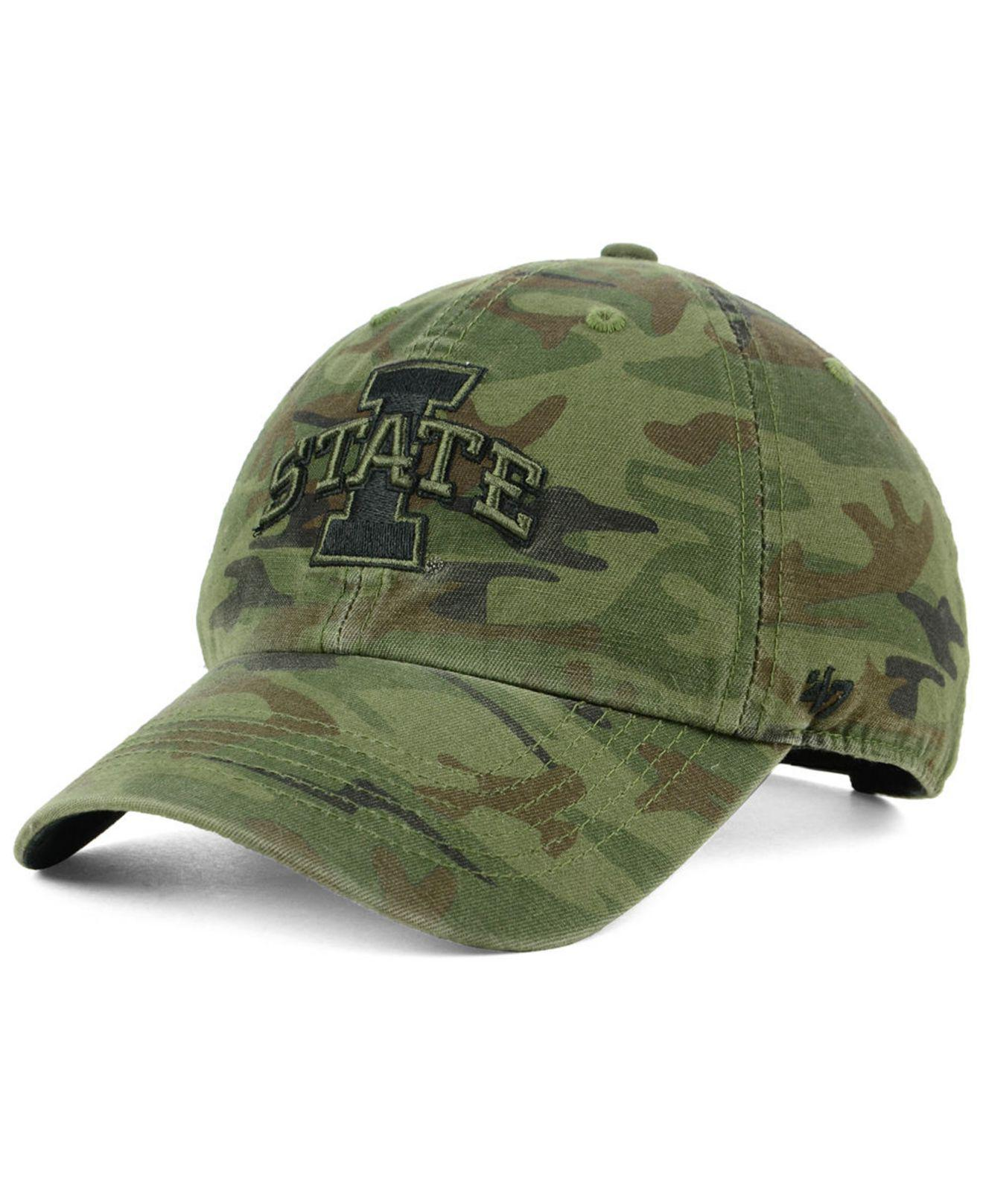 huge selection of e84e0 57a5e ... release date 47 brand. green iowa state cyclones regiment clean up  strapback cap 5fef3 91623