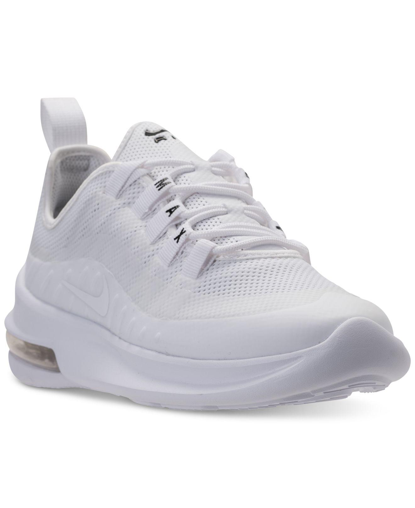 b5e10cf4a1 Nike Air Max Axis Casual Sneakers From Finish Line in White - Lyst