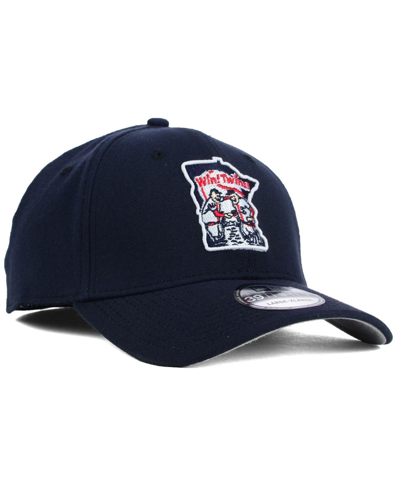 detailed look a1ac8 7aacf ... Minnesota Twins Core Classic 39Thirty Cap for Men - Lyst. View  fullscreen