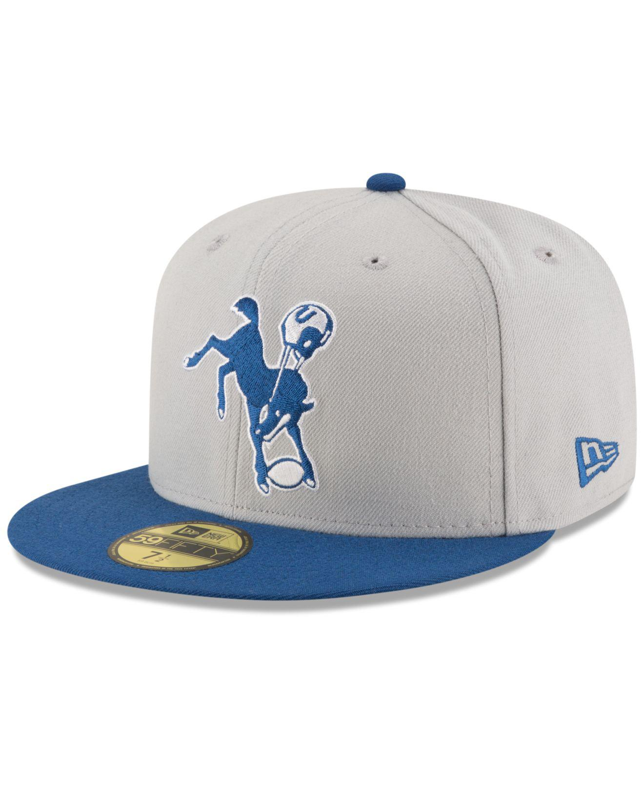Lyst - KTZ Indianapolis Colts Team Basic 59fifty Cap for Men be589f96d