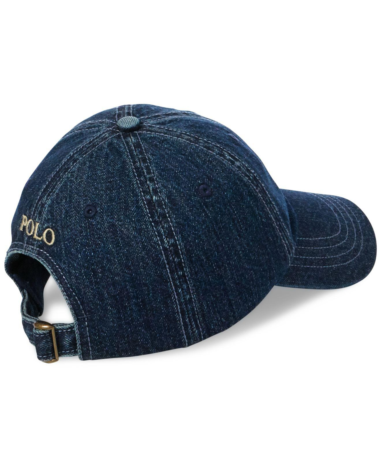 f735b263169 Polo  Lyst - Polo Ralph Lauren Denim Baseball Cap in Blue for Men 50% price  51786  Reversible Chino Bucket Hat ...