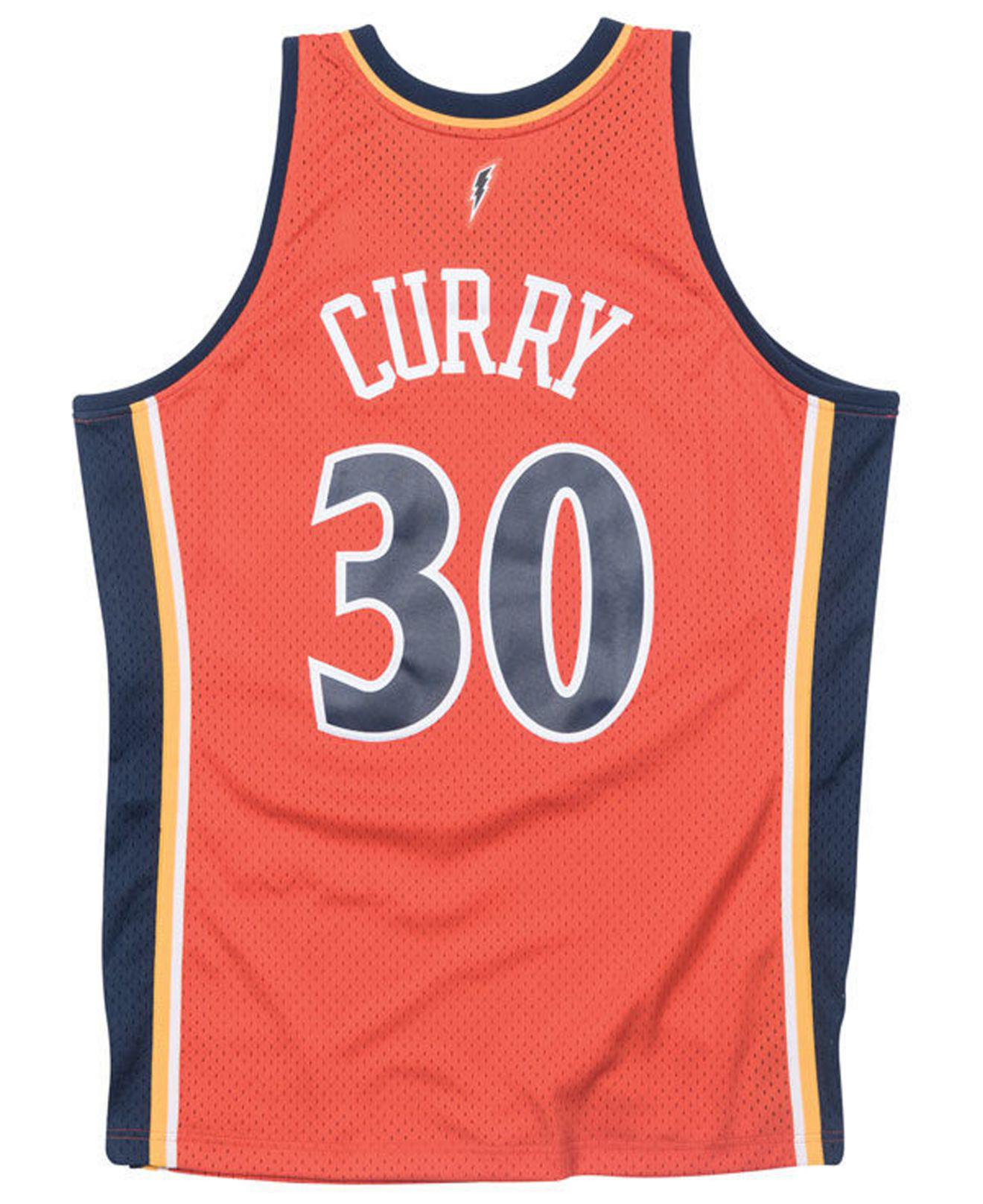 Lyst - Mitchell   Ness Stephen Curry Golden State Warriors Hardwood Classic  Swingman Jersey for Men e983b3497