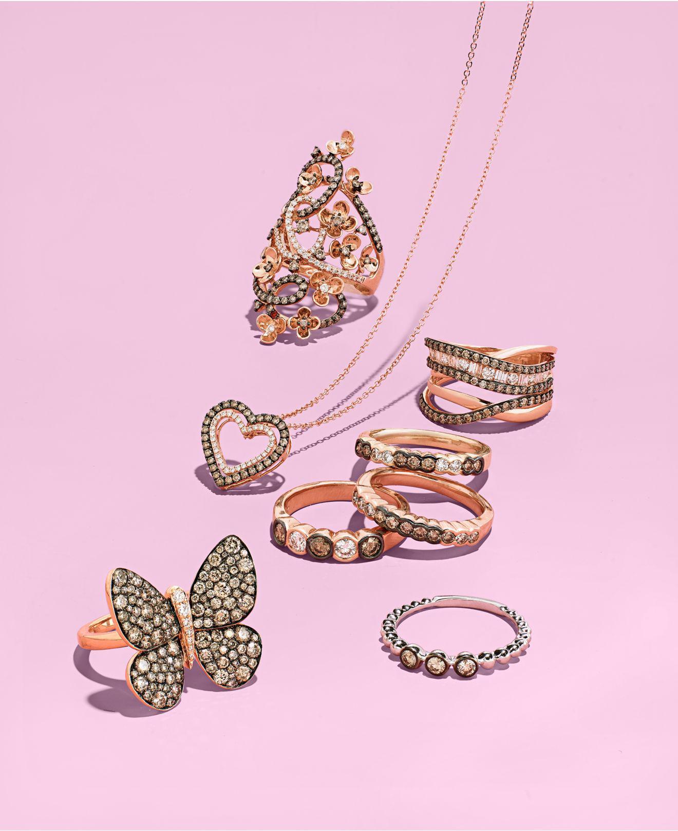 Lyst - Le Vian Diamond Bezel Ring (1/2 Ct. T.w.) In 14k Gold in Metallic