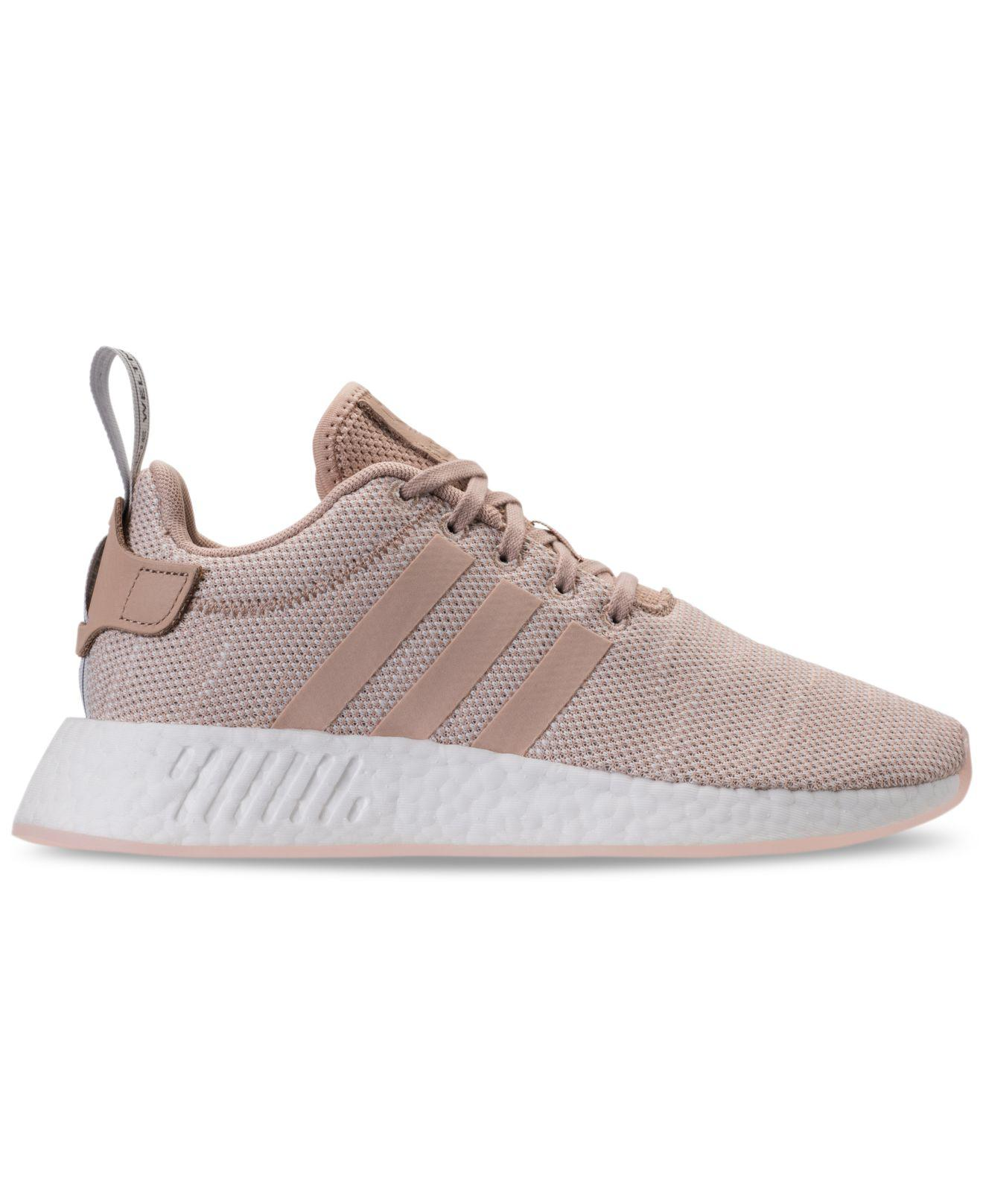 b49ce50f8 Lyst - adidas Nmd R2 Casual Sneakers From Finish Line