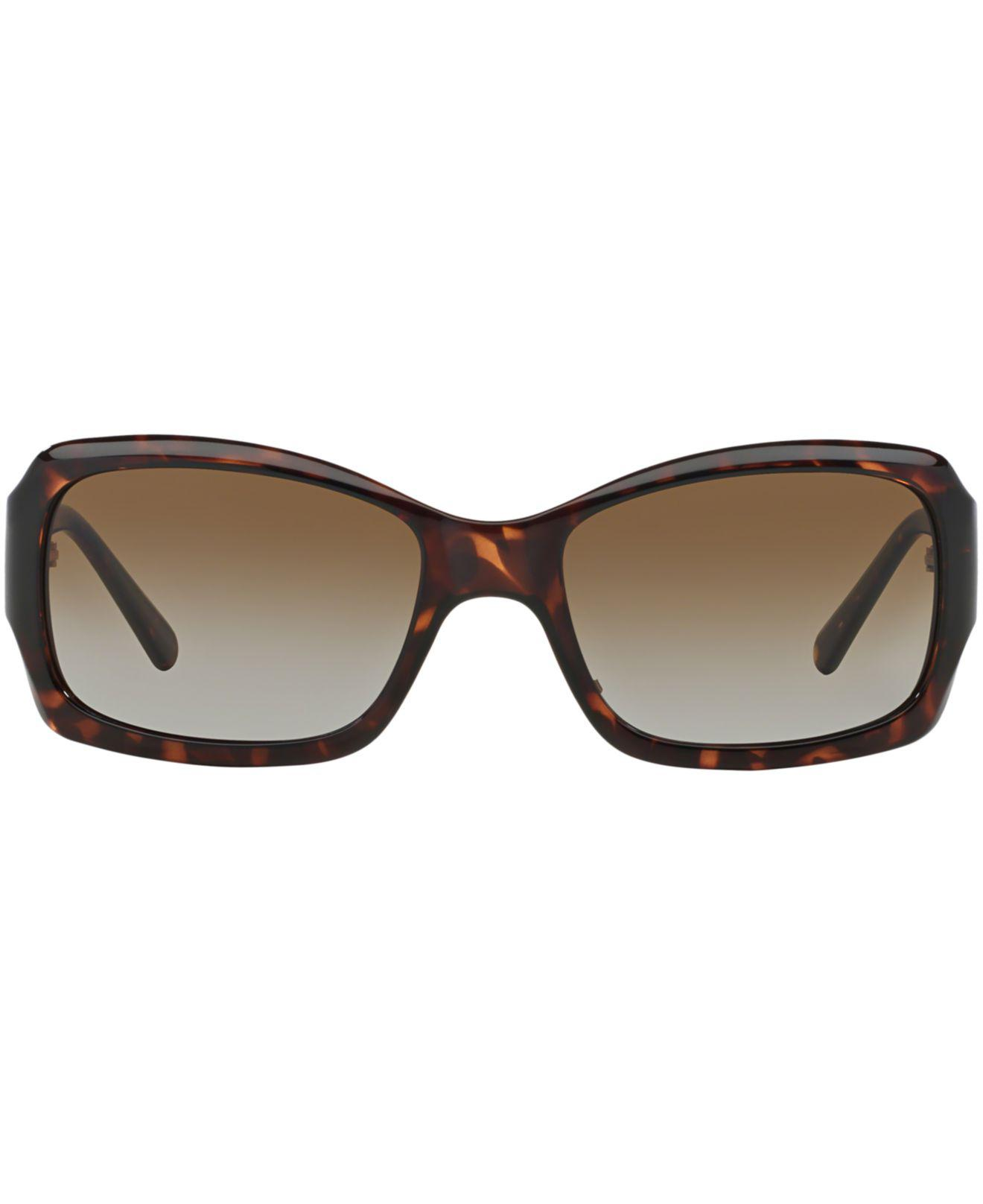 dceeb438df80 Lyst - Tory Burch Sunglasses, Ty9028p in Brown