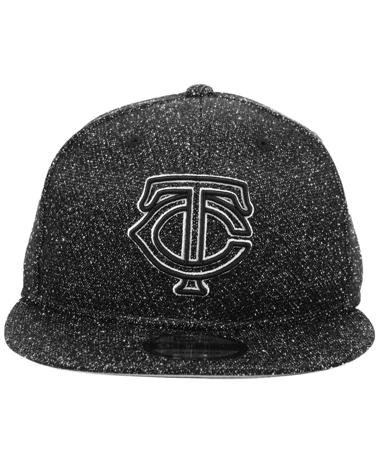 newest 4cfb8 8550e Lyst - KTZ Minnesota Twins Spec 9fifty Snapback Cap in Black for Men
