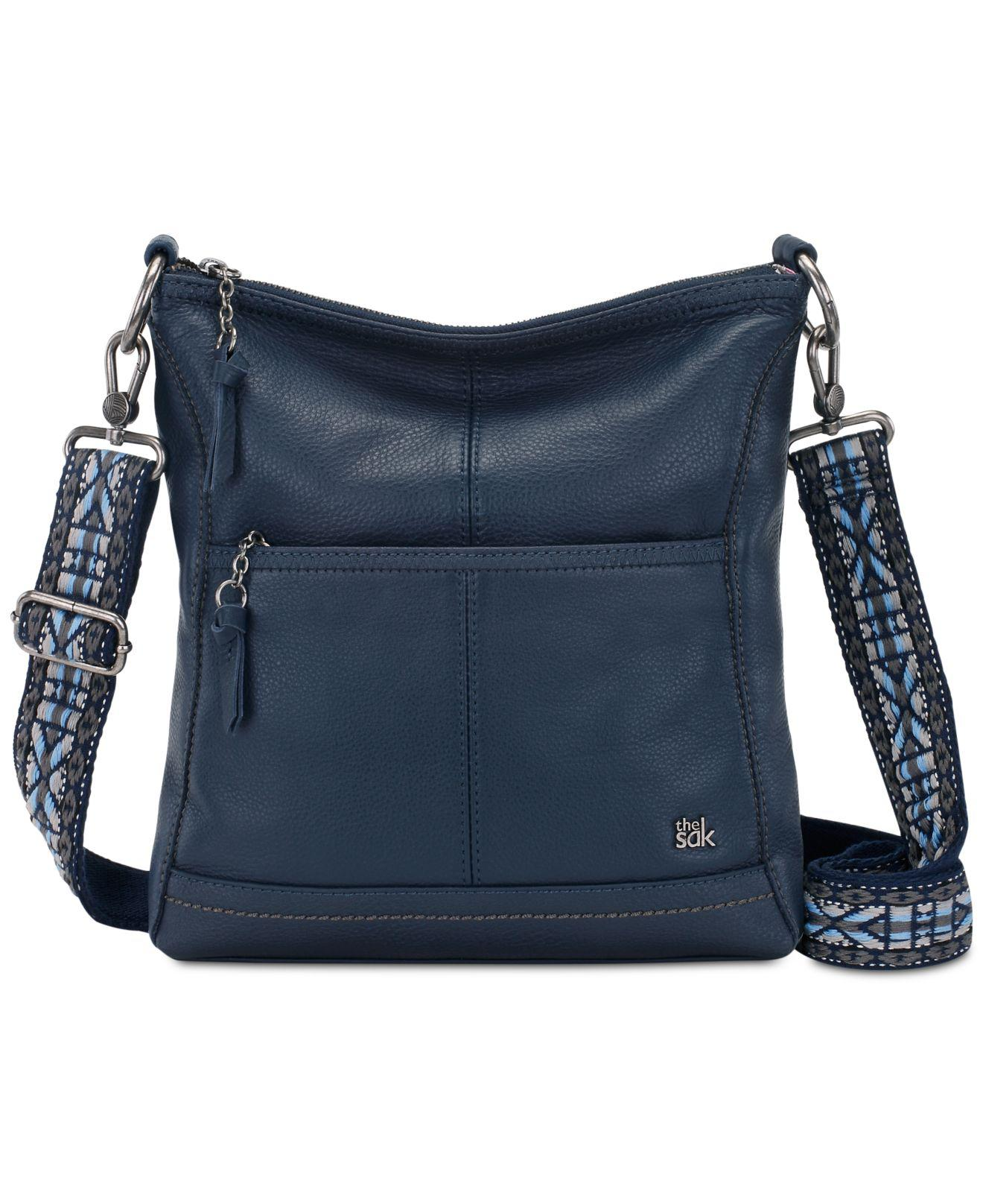Lyst - The Sak Lucia Leather Crossbody in Blue - Save 20% 3f2bc5e83f5a8