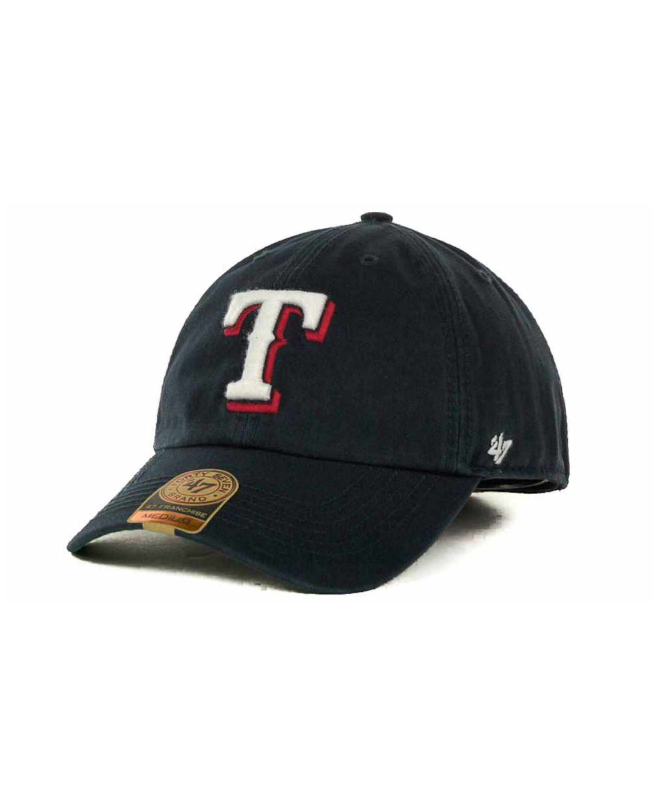 Lyst - 47 Brand Texas Rangers Mlb  47 Franchise Cap in Blue for Men fea201fa4fbd