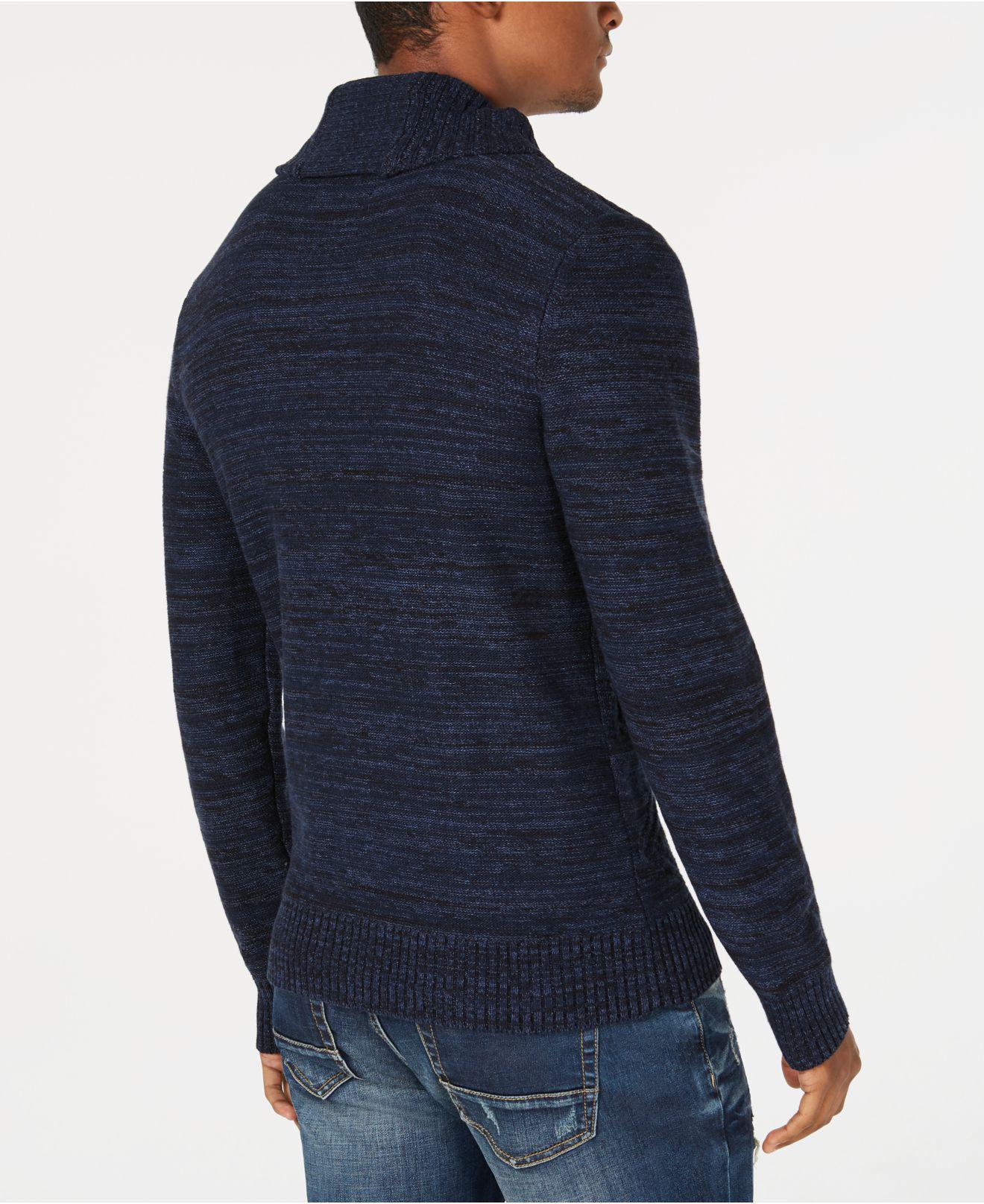 63a6010ff Lyst - American Rag Jacquard Shawl-collar Sweater