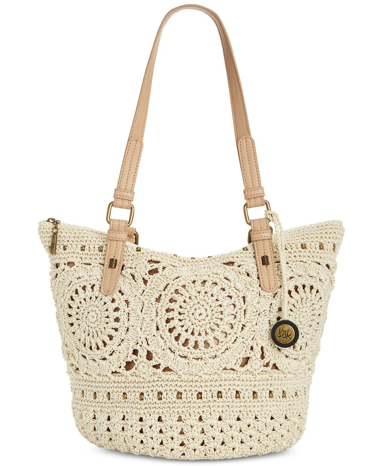 The Sak Silverwood Crochet Tote Created For Macys Lyst