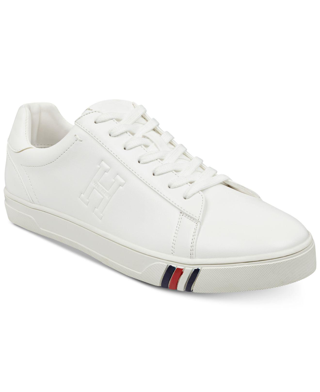 ea056cc3903a8f Lyst - Tommy Hilfiger Jeron Sneakers in White