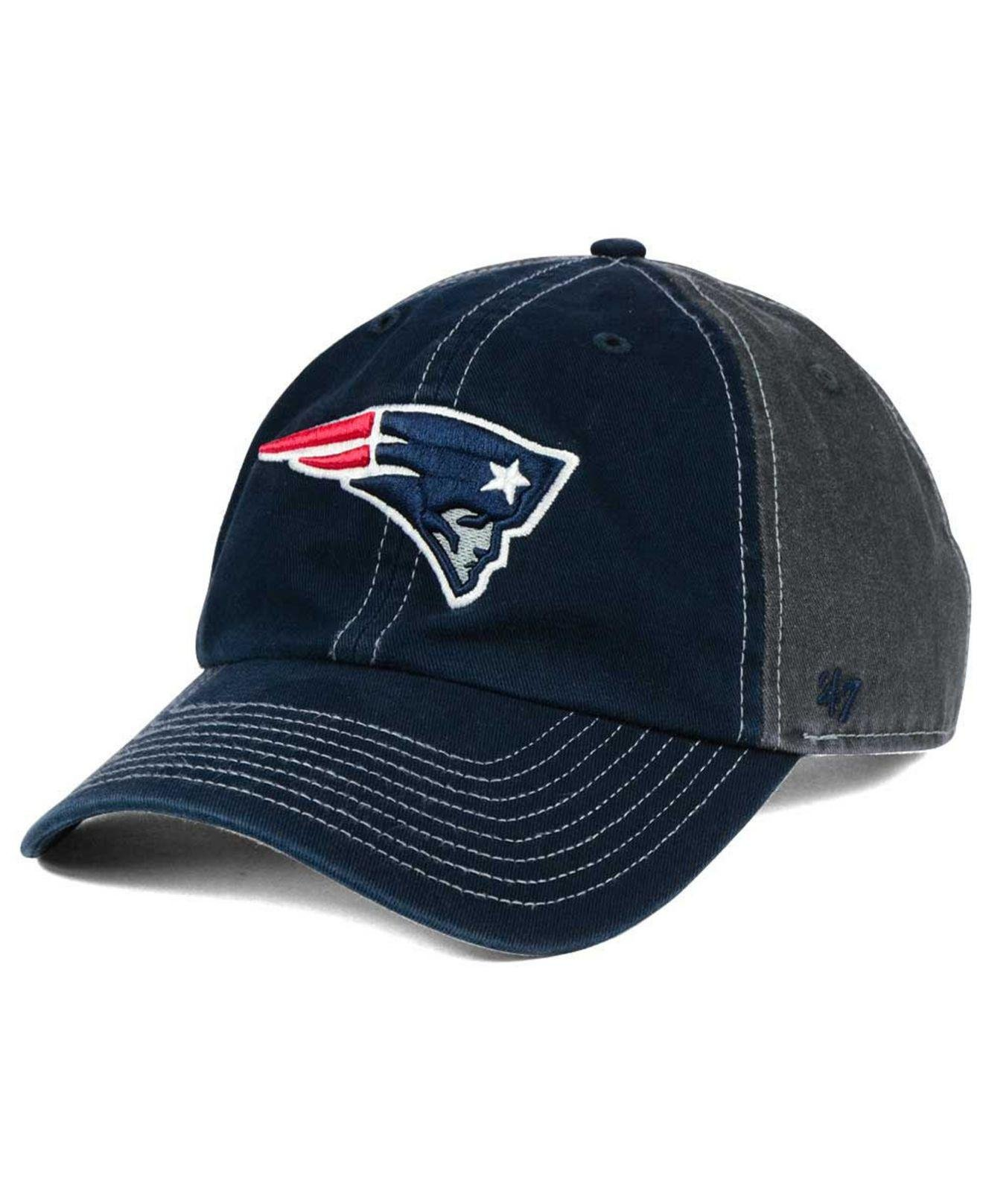 94be14f584a71 ... spain lyst 47 brand new england patriots transistor clean up cap in  gray b82f9 74792