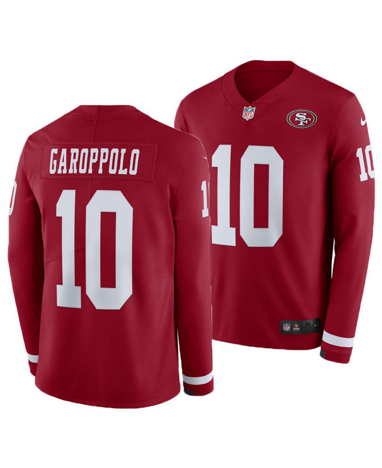 official photos fc391 f6194 Lyst - Nike Jimmy Garoppolo San Francisco 49ers Therma ...