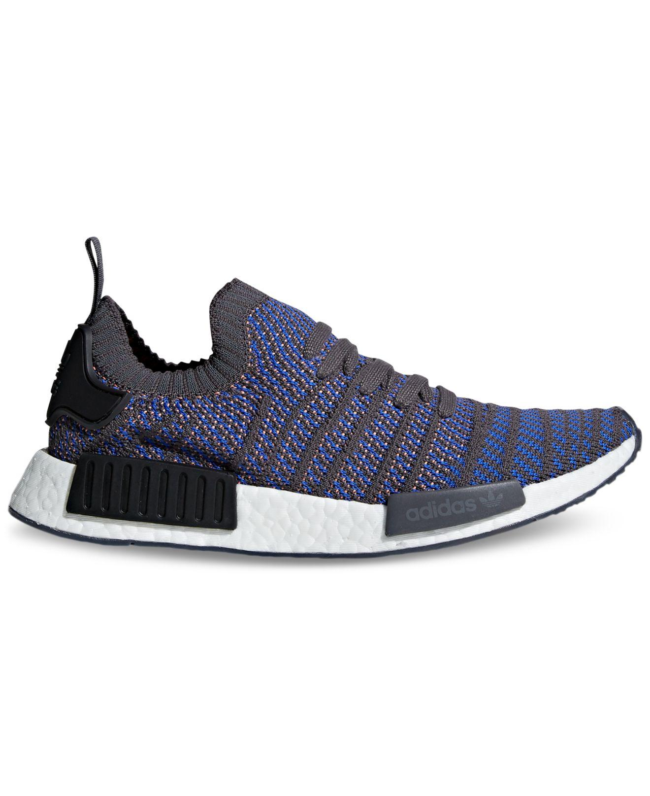 79c0bc5645e99 ... promo code for lyst adidas nmd r1 casual sneakers from finish line in  blue for men