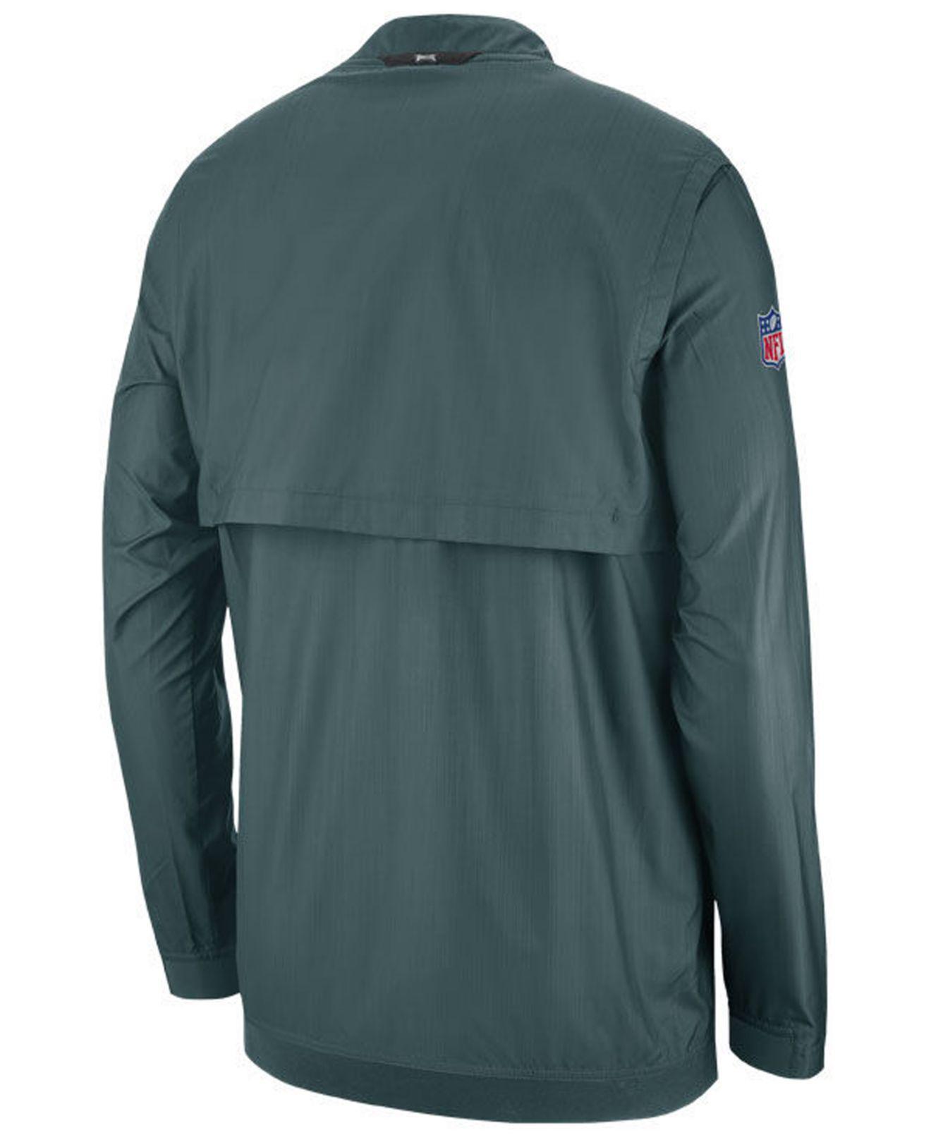 1c4f23546 Lyst - Nike Philadelphia Eagles Lockdown Jacket in Green for Men