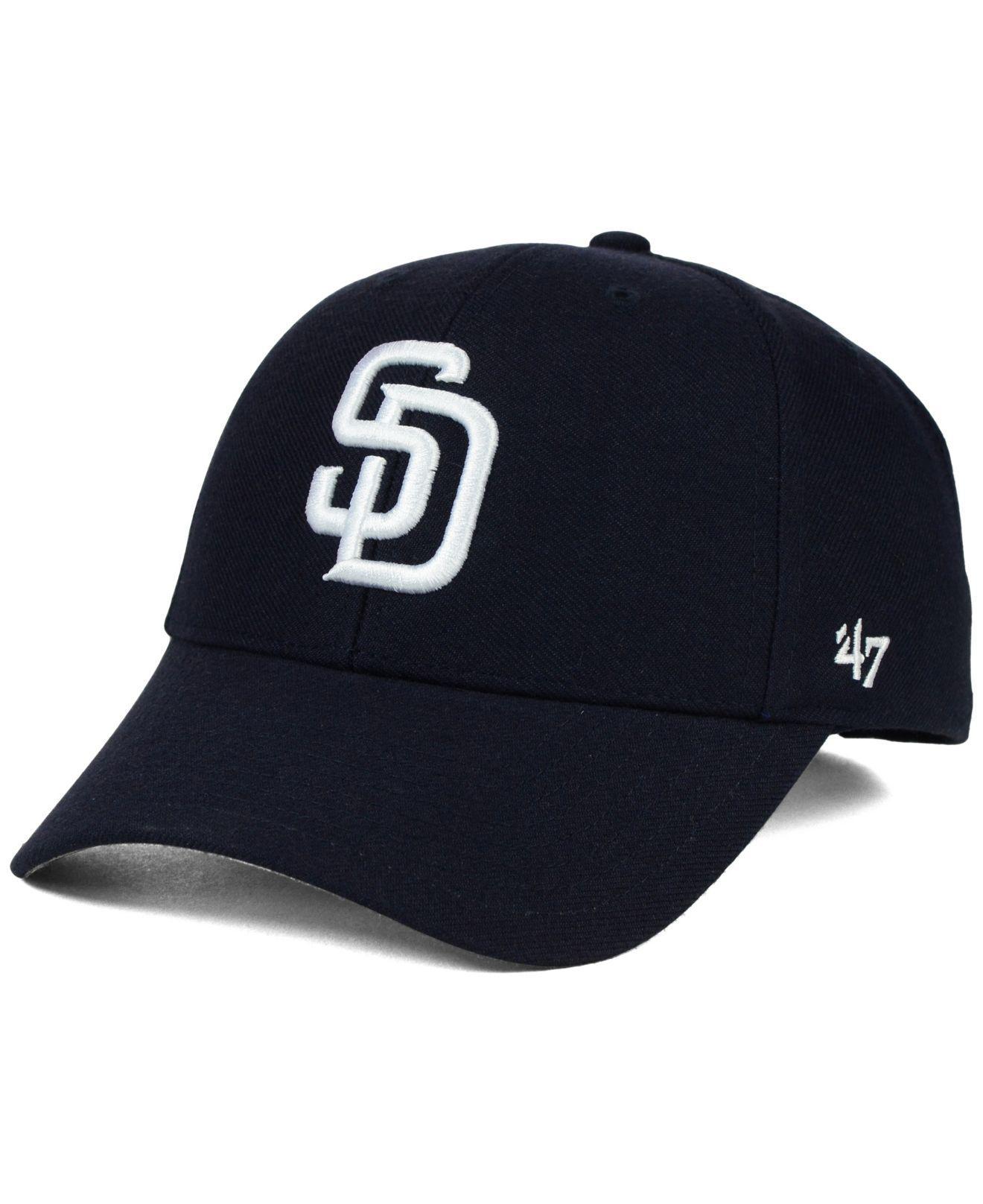 the latest 19f81 aef37 47 Brand. Men s Blue San Diego Padres Mlb On Field Replica Mvp Cap