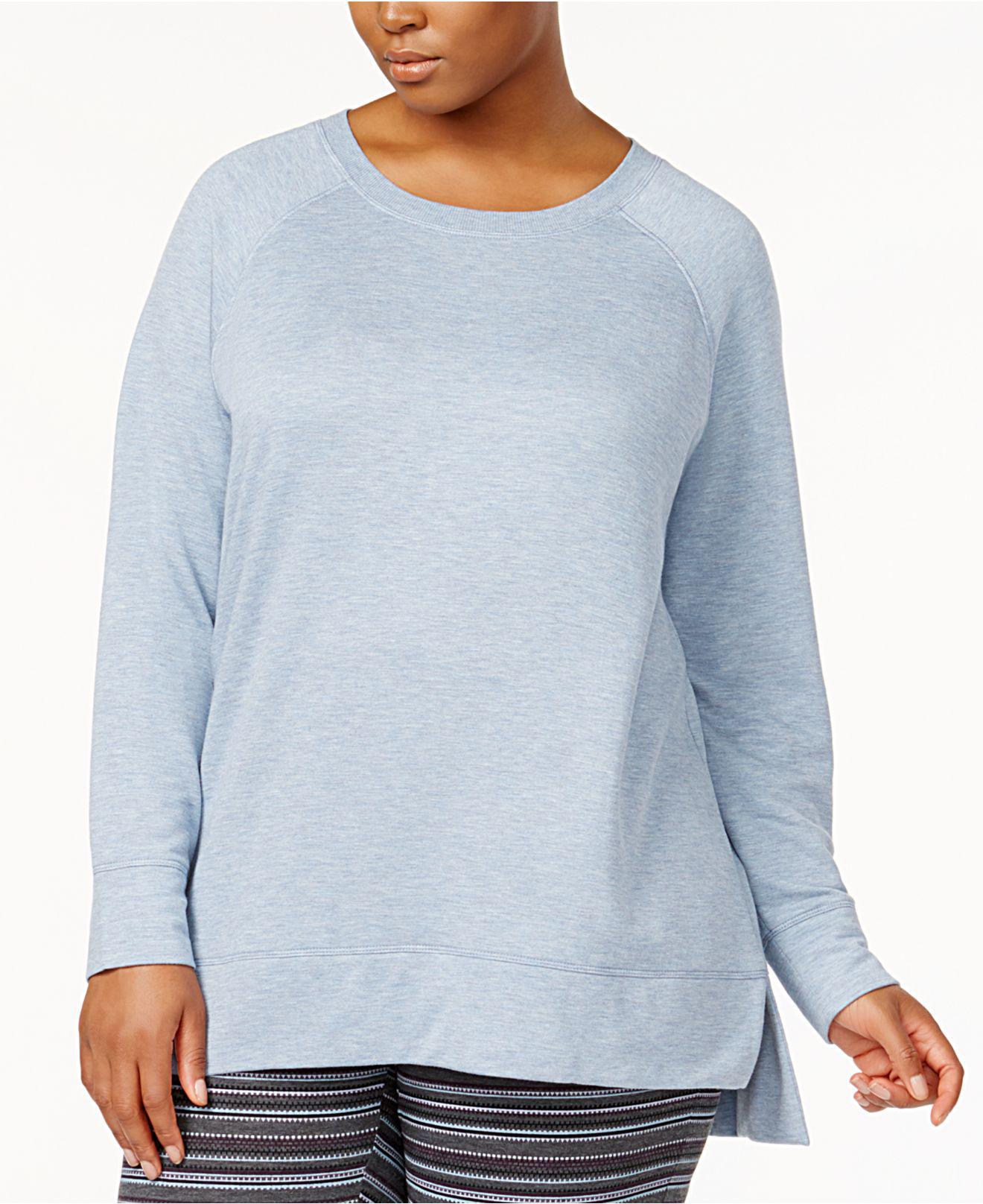 Lyst - Alfani Plus Size Pajama Tunic 123b1385a
