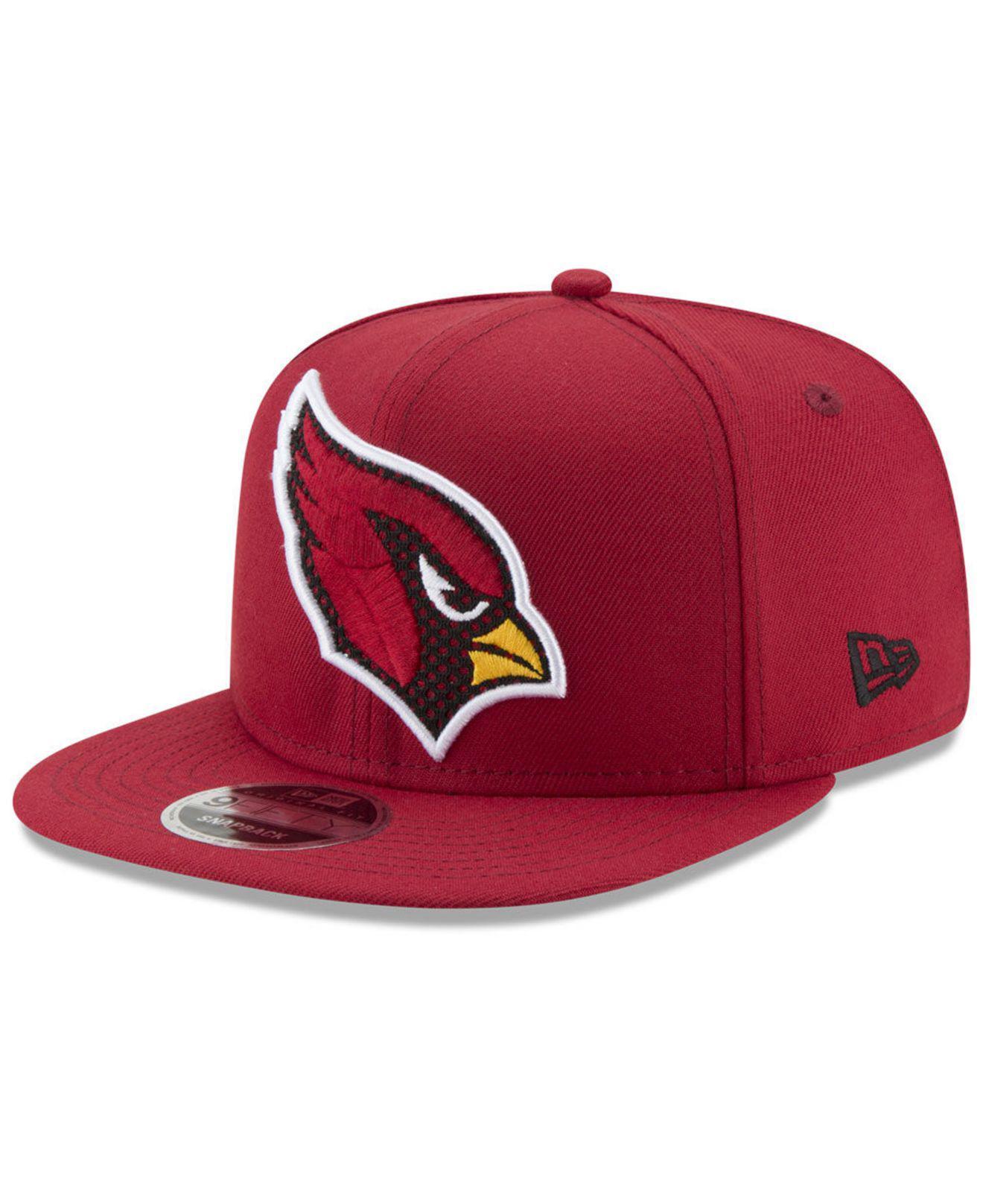 info for 38b16 00c61 KTZ. Men s Red Arizona Cardinals Meshed Mix 9fifty Snapback Cap