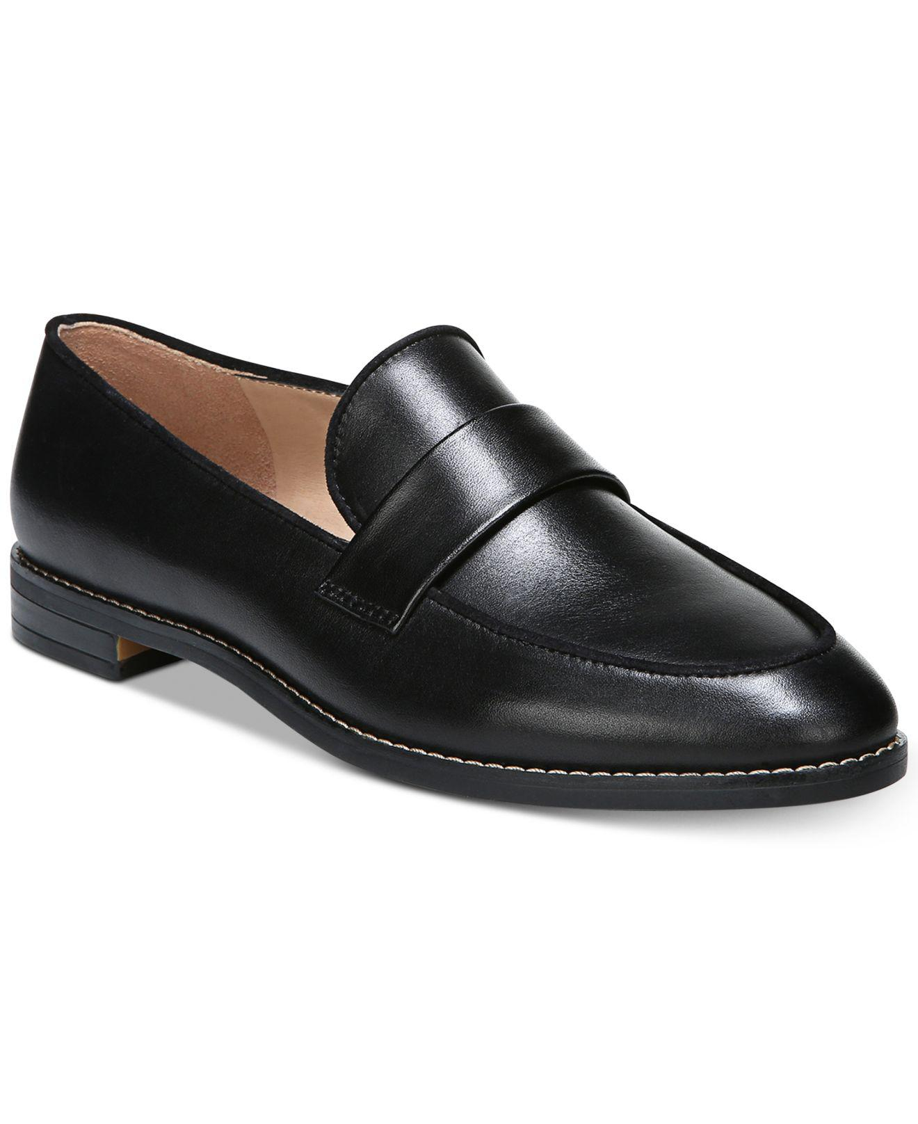 Hudley 2 Laser Perforated Leather Loafers wBaoX