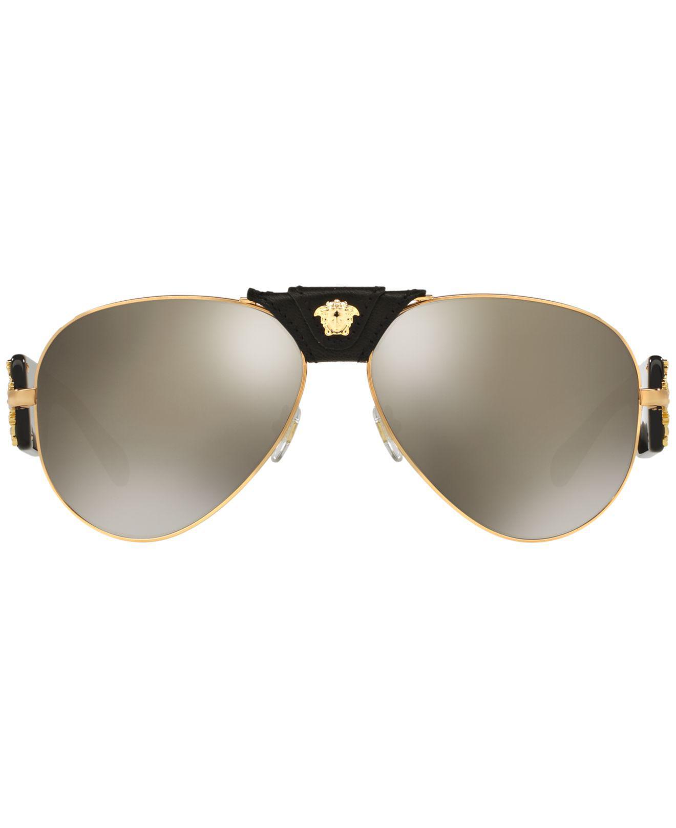 Lyst - Versace Sunglasses, Ve2150q in Brown