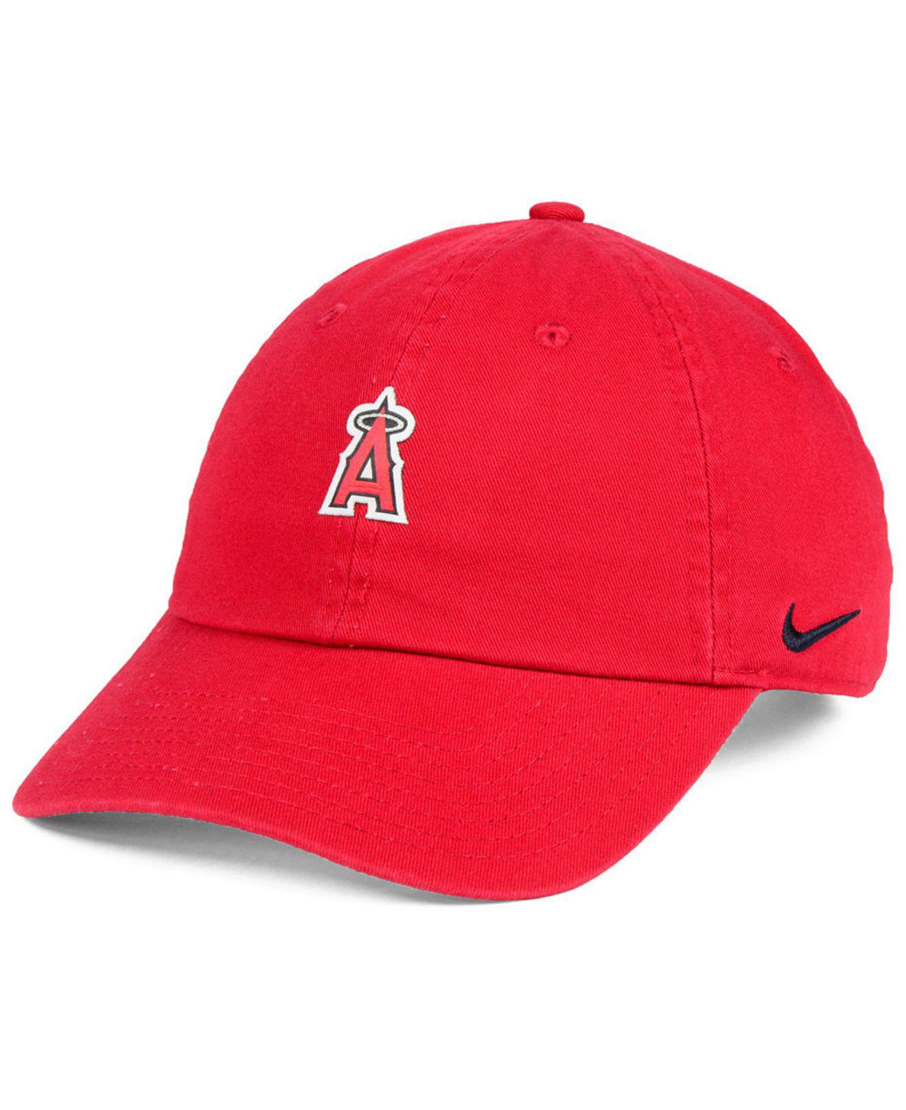 Lyst - Nike Los Angeles Angels Micro Cap in Red for Men 570a51561450