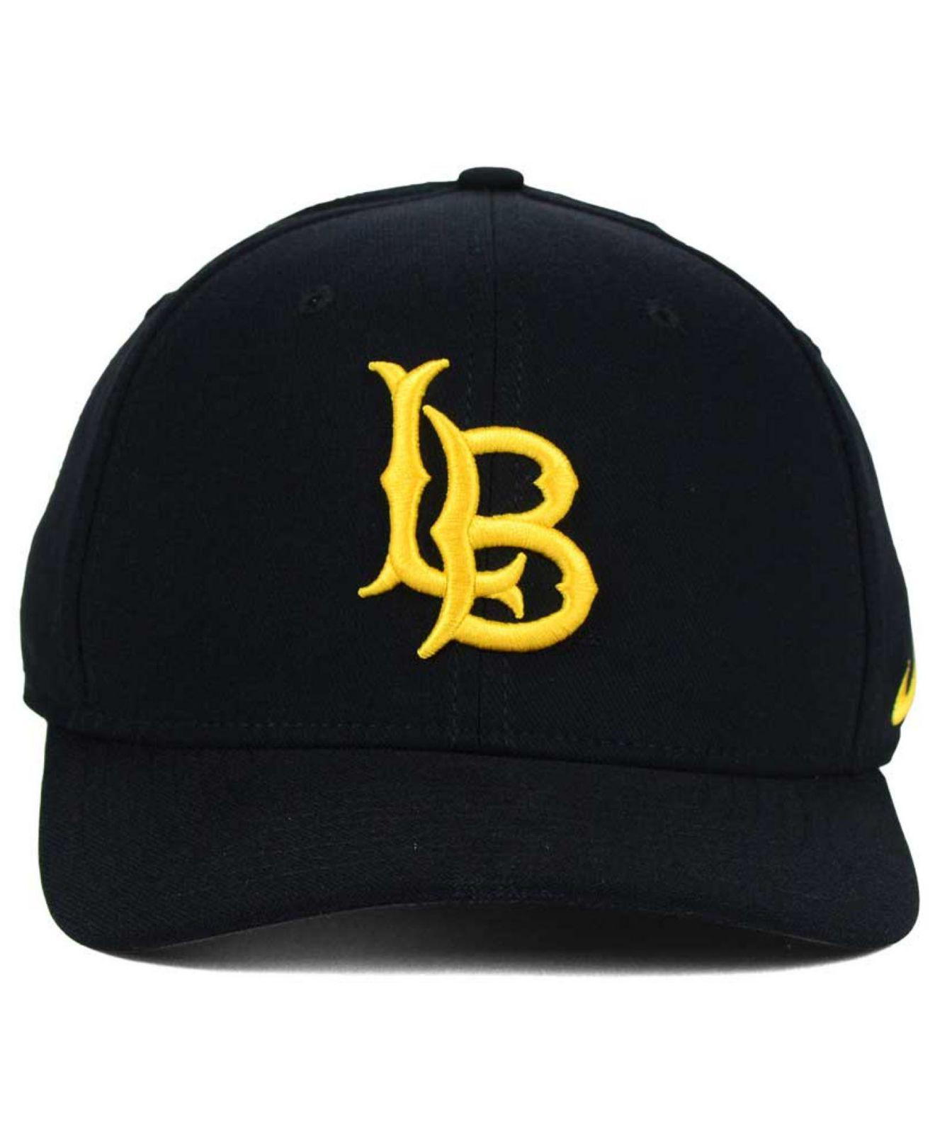 a1ef67bc617 Lyst - Nike Long Beach State 49ers Classic Swoosh Cap in Black for Men