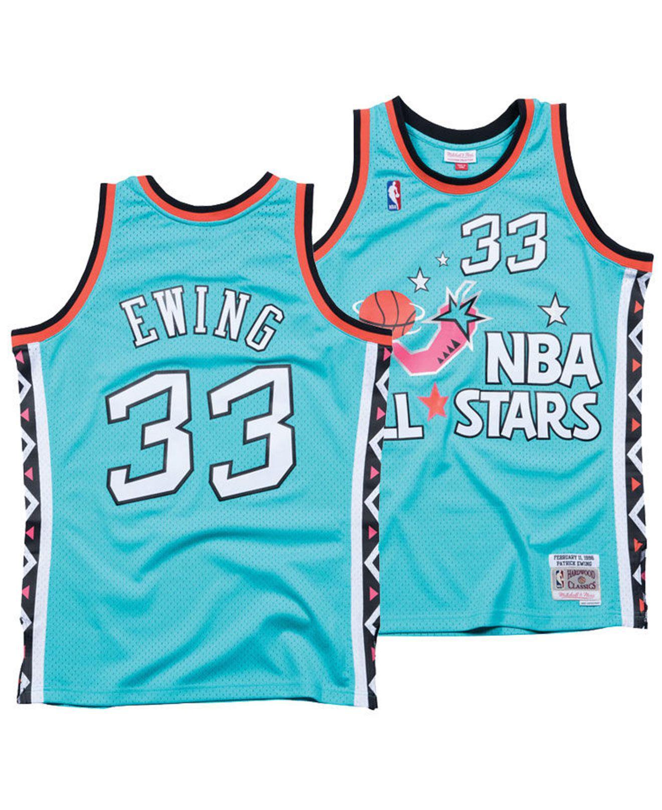 6bfc989b5 Mitchell   Ness. Men s Blue Patrick Ewing Nba All Star 1996 Swingman Jersey