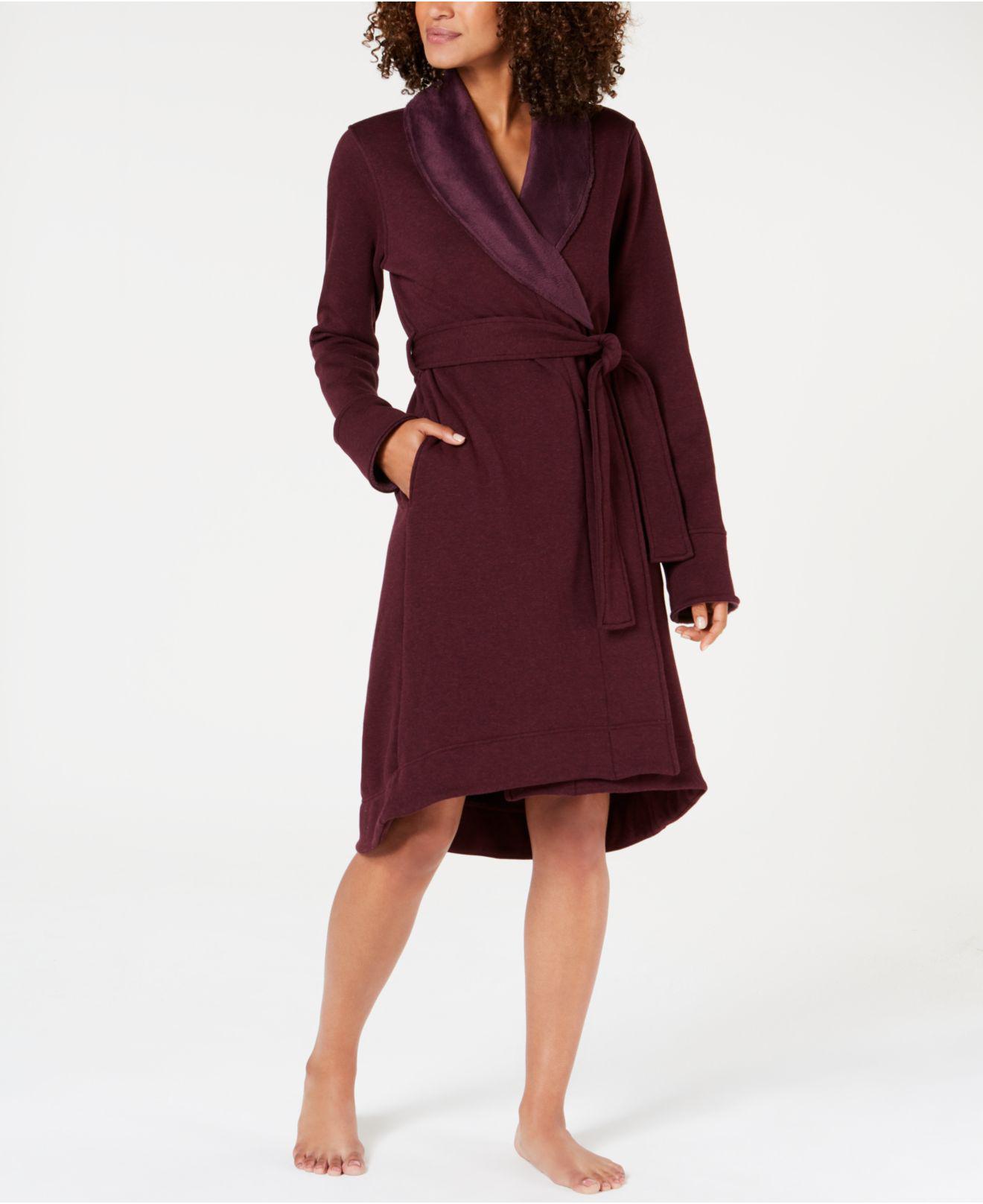Lyst - UGG Duffield Ii Wrap Robe in Red 4fe0236b1