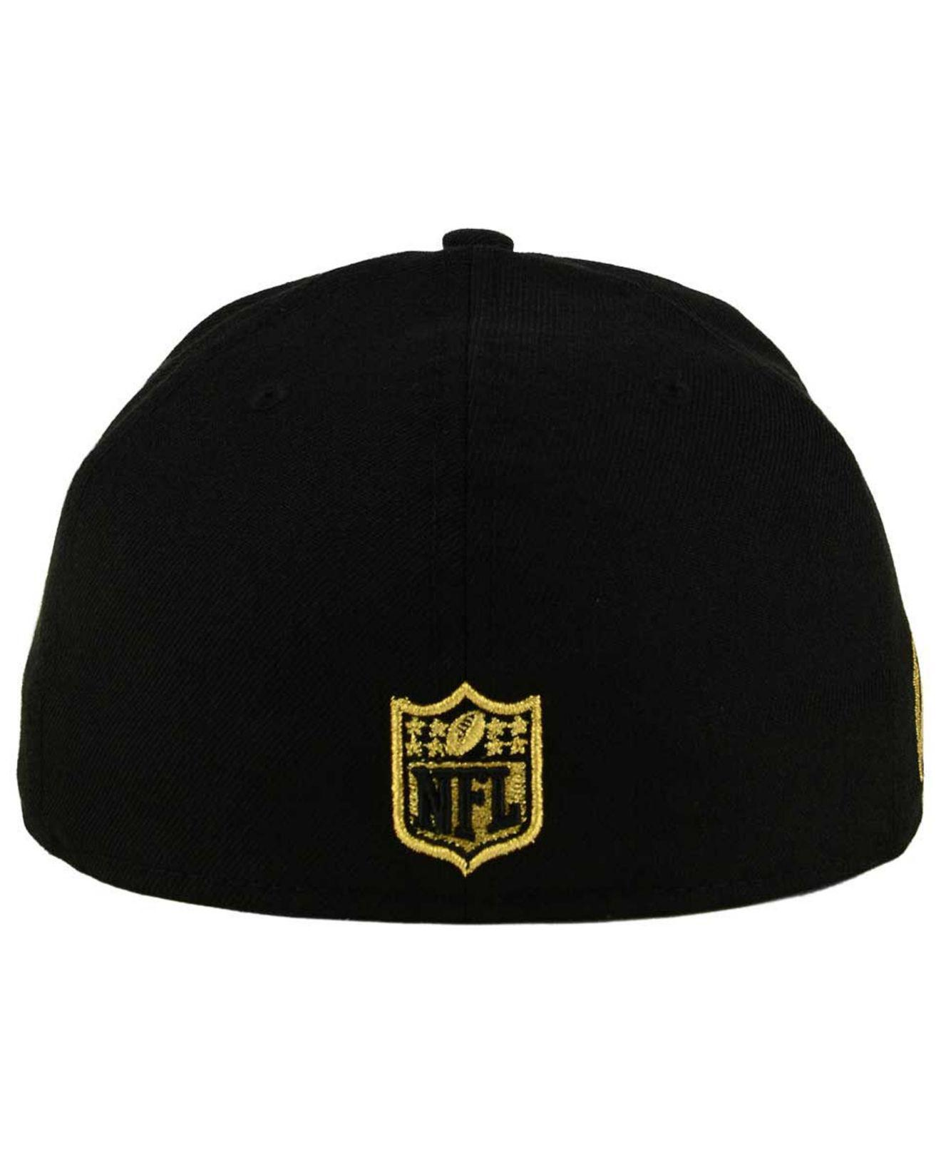 competitive price b25aa 52d28 ... coupon code lyst ktz state flective metallic 59fifty fitted cap in black  for men c986c af31c