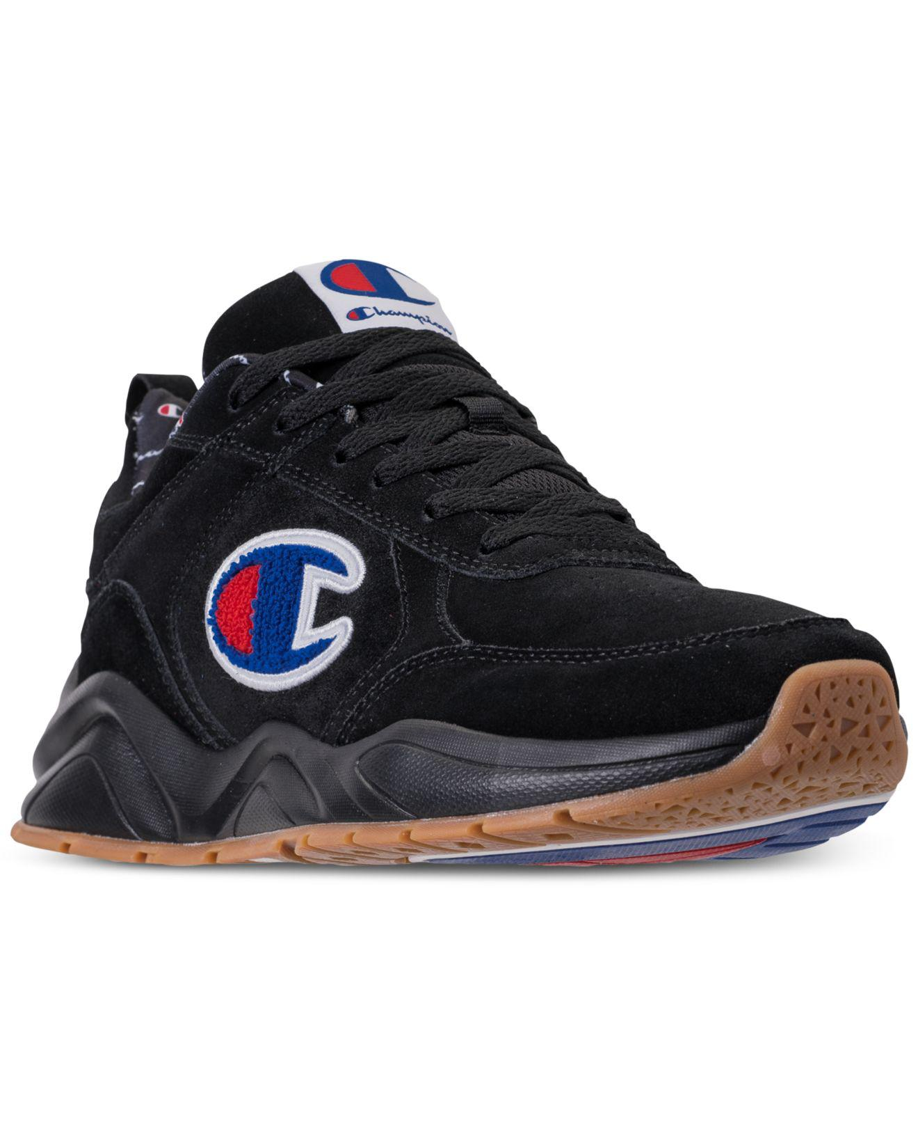 3f84a1b6e96 Lyst - Champion 93eighteen Suede Chenille Athletic Training Sneakers ...