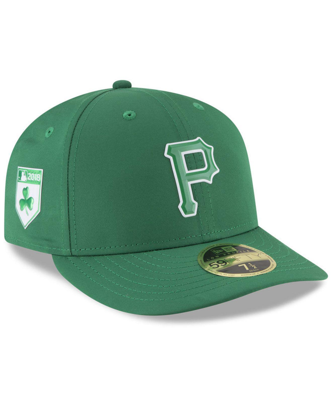 02476d46c0c Lyst - KTZ Pittsburgh Pirates St. Patty s Day Pro Light Low Crown ...