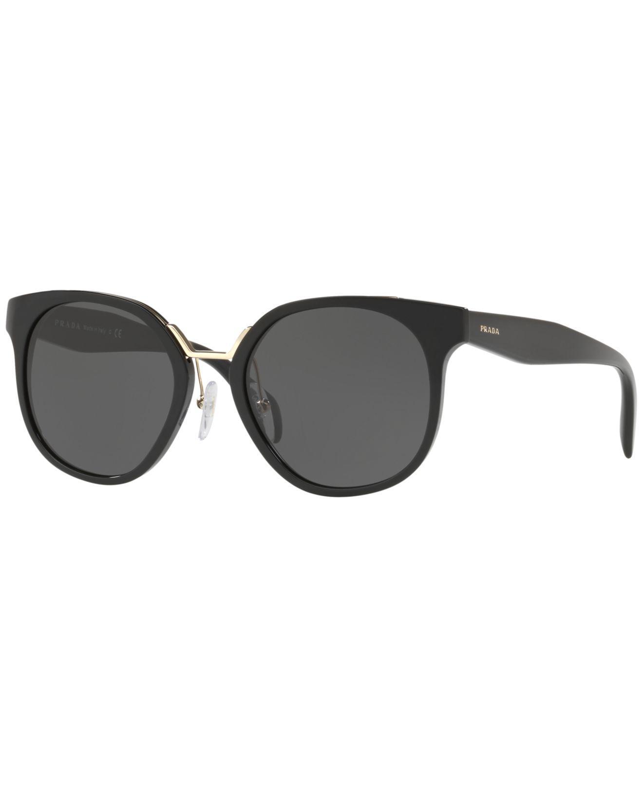 c10480c200fd2 Prada - Black Sunglasses