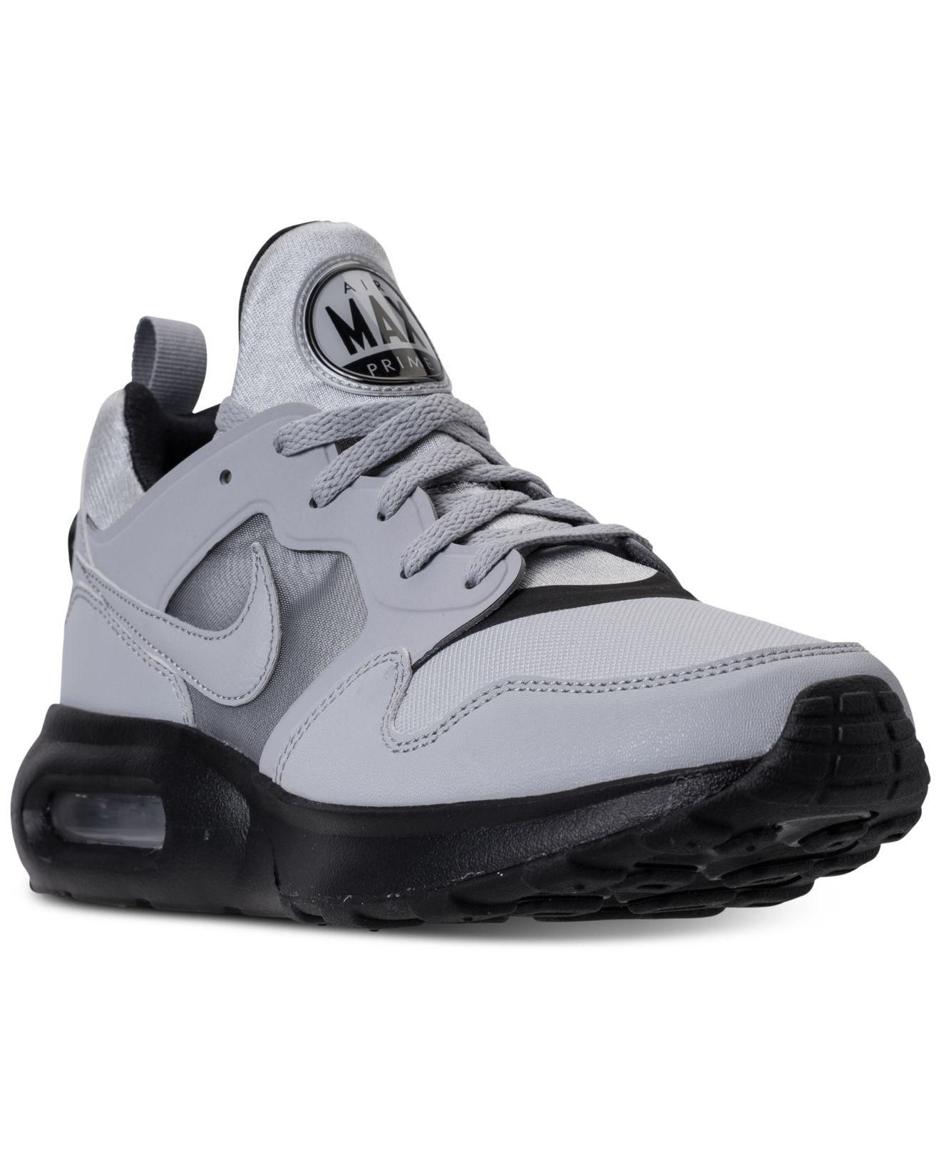 Nike. Gray Men's Air Max Prime Running Sneakers From Finish Line