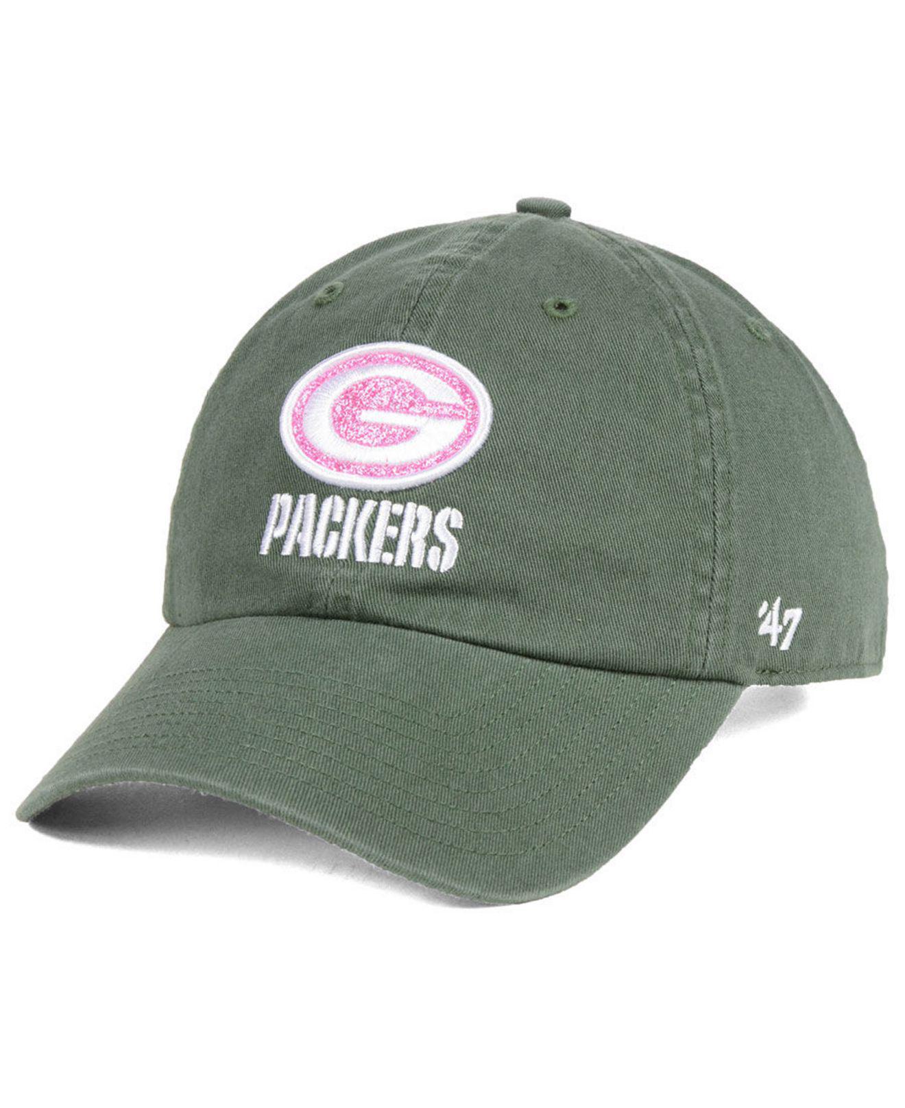 7bd7cf50b7831 ... adjustable hat ec82f 1619b  best 47 brand. womens green bay packers  moss glitta clean up cap ff97e f8191