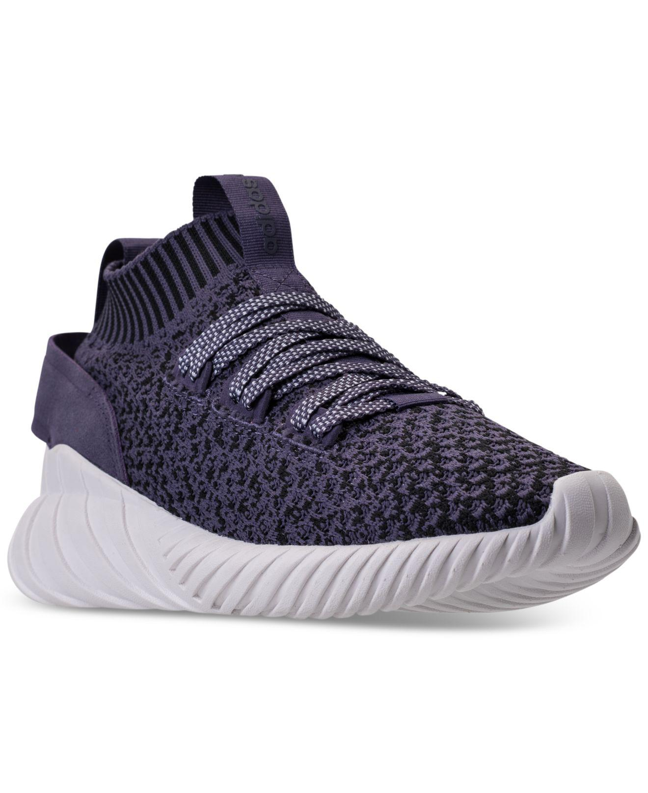 Adidas. Women's Tubular Doom Sock Casual Sneakers From Finish Line