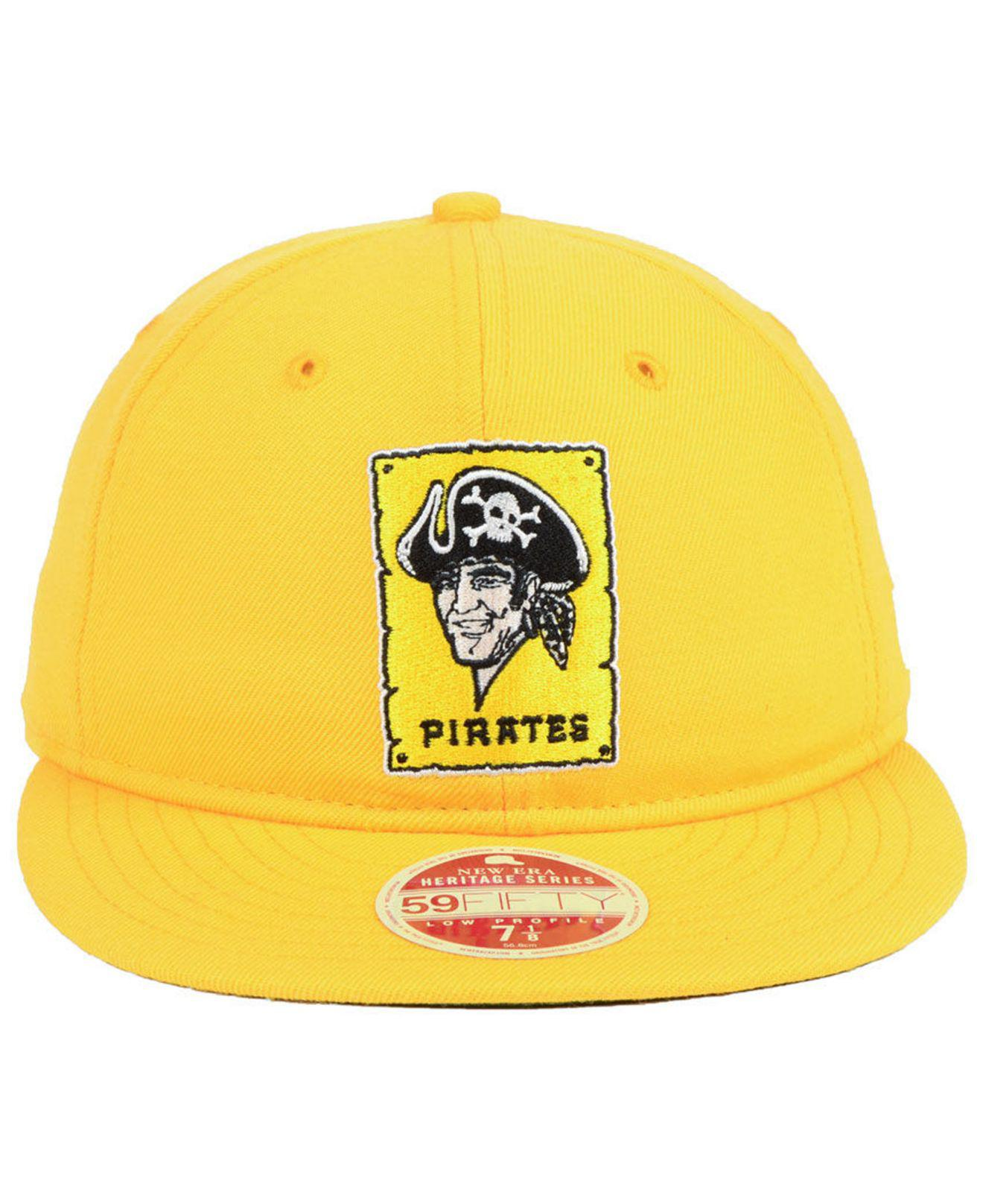 finest selection f1a50 806ce Lyst - KTZ Pittsburgh Pirates Heritage Retro Classic 59fifty Fitted Cap in  Metallic for Men