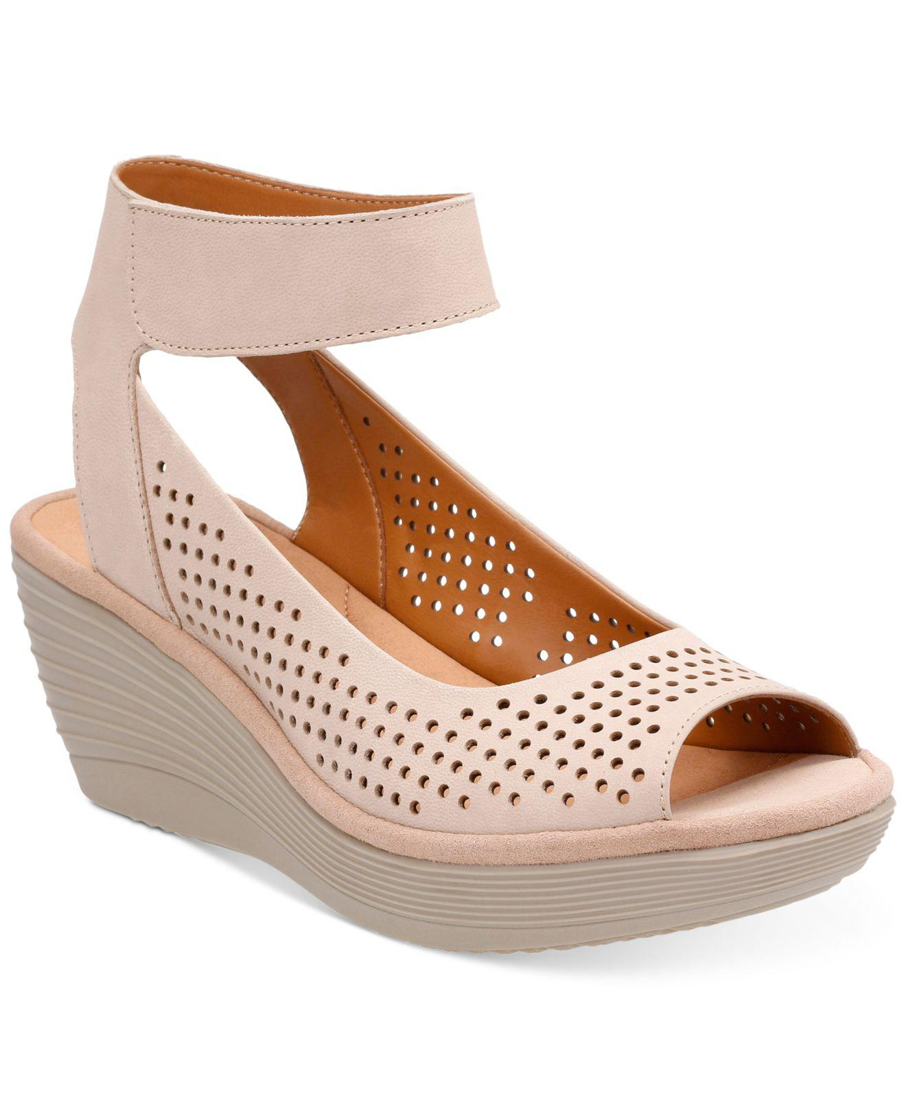 4f4d4725ed0 Clarks. Women s Reedly Salene Wedge Sandals