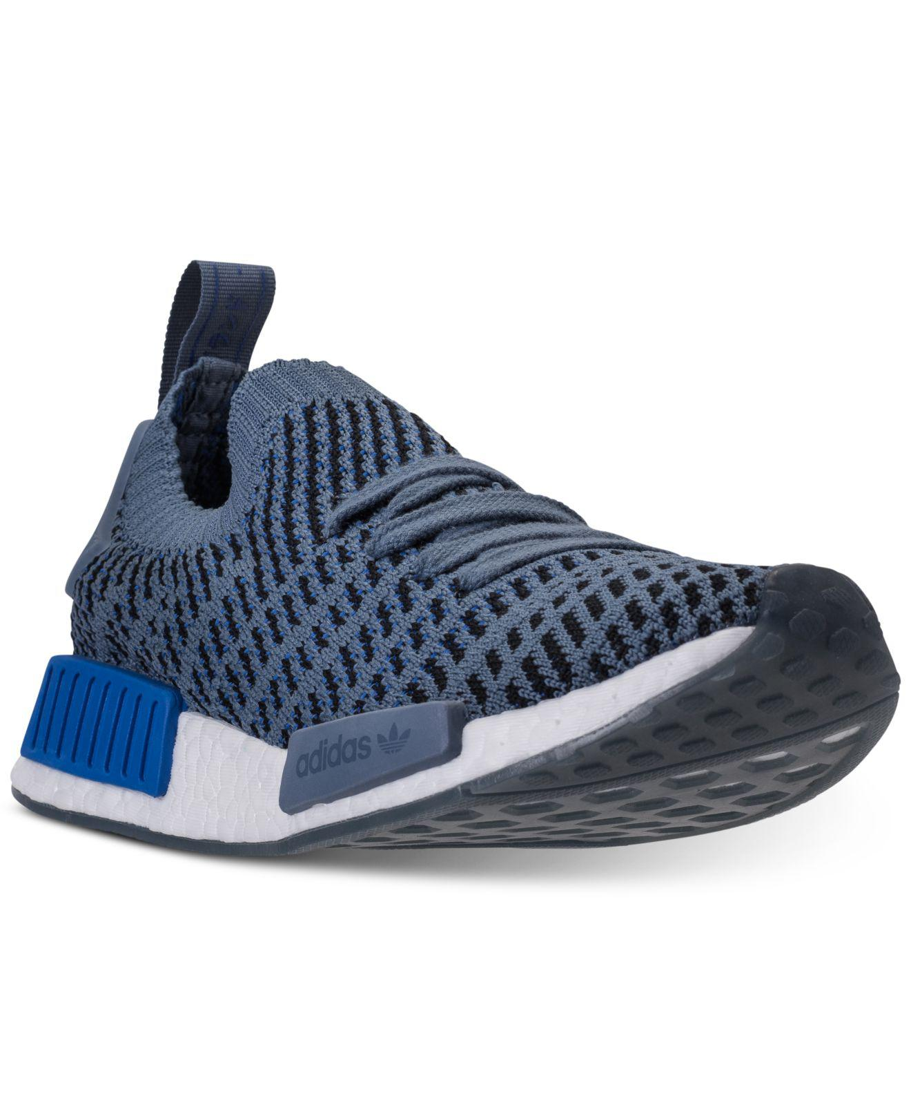 e4adfcc80 Lyst - adidas Nmd R1 Stlt Primeknit Casual Sneakers From Finish Line ...