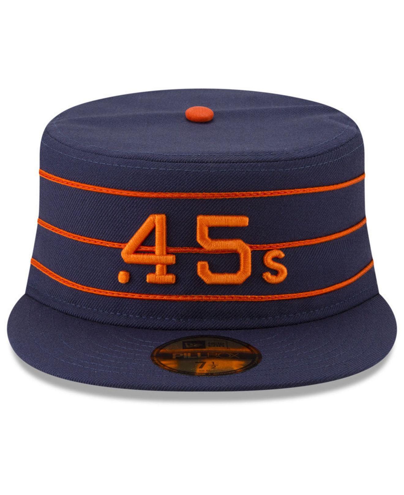26cc8a6367c ... Houston Colt 45s Pillbox 59fifty-fitted Cap for Men - Lyst. View  fullscreen