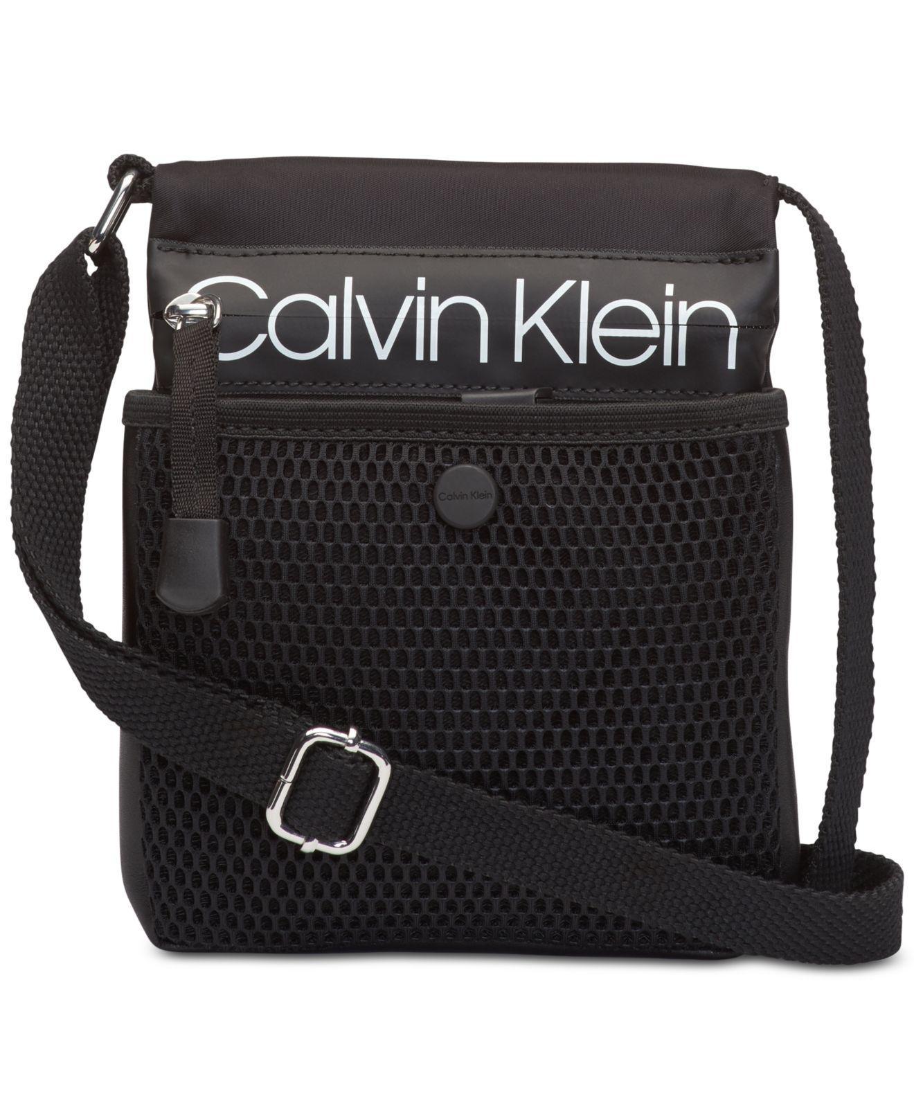 Calvin Klein - Black Tabbie Nylon Crossbody - Lyst. View fullscreen abfeedebc30c7