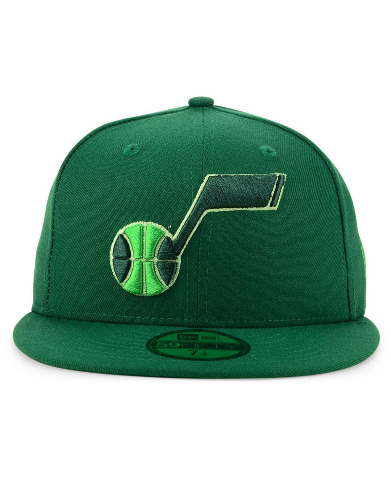 Lyst - KTZ Utah Jazz Color Prism Pack 59fifty Fitted Cap in Green for Men cf73b1736