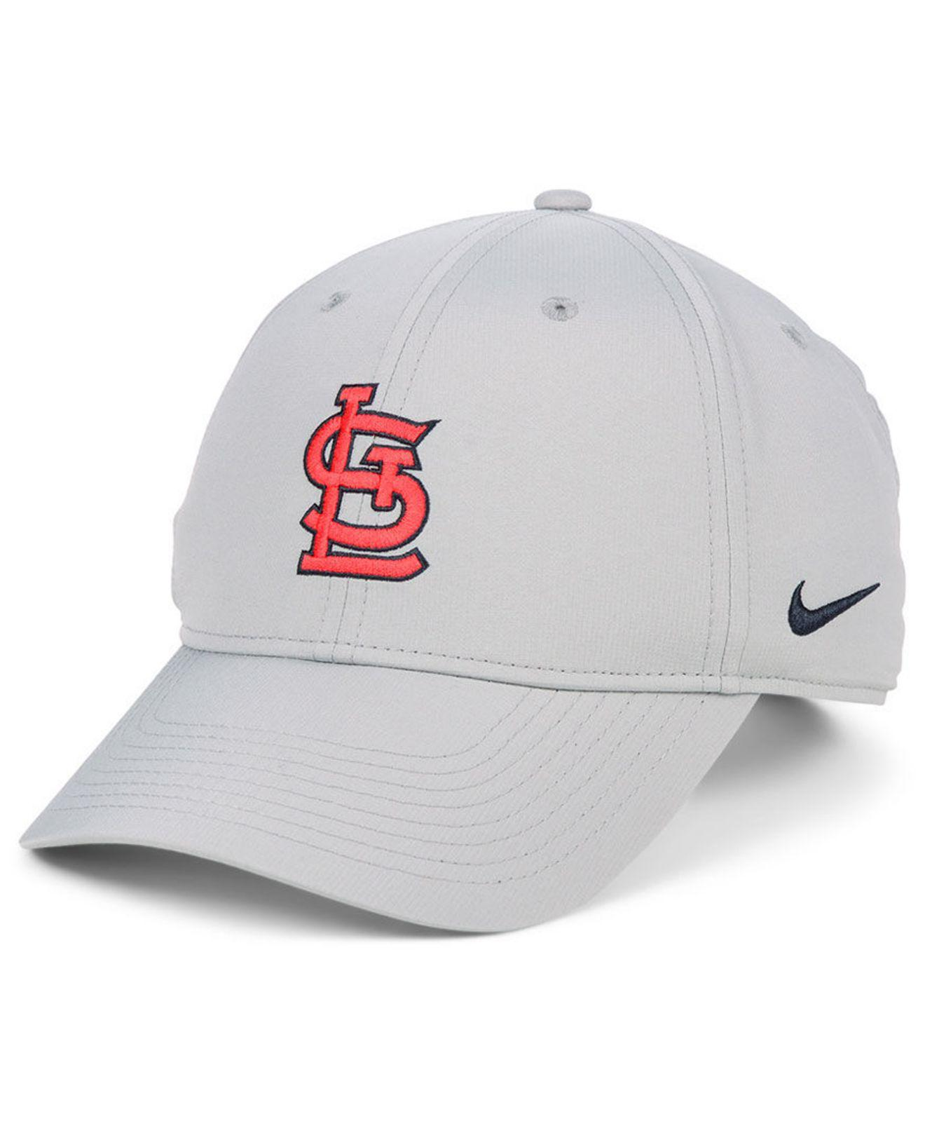 d057d4b6e Lyst - Nike St. Louis Cardinals Legacy Performance Cap in Gray for Men