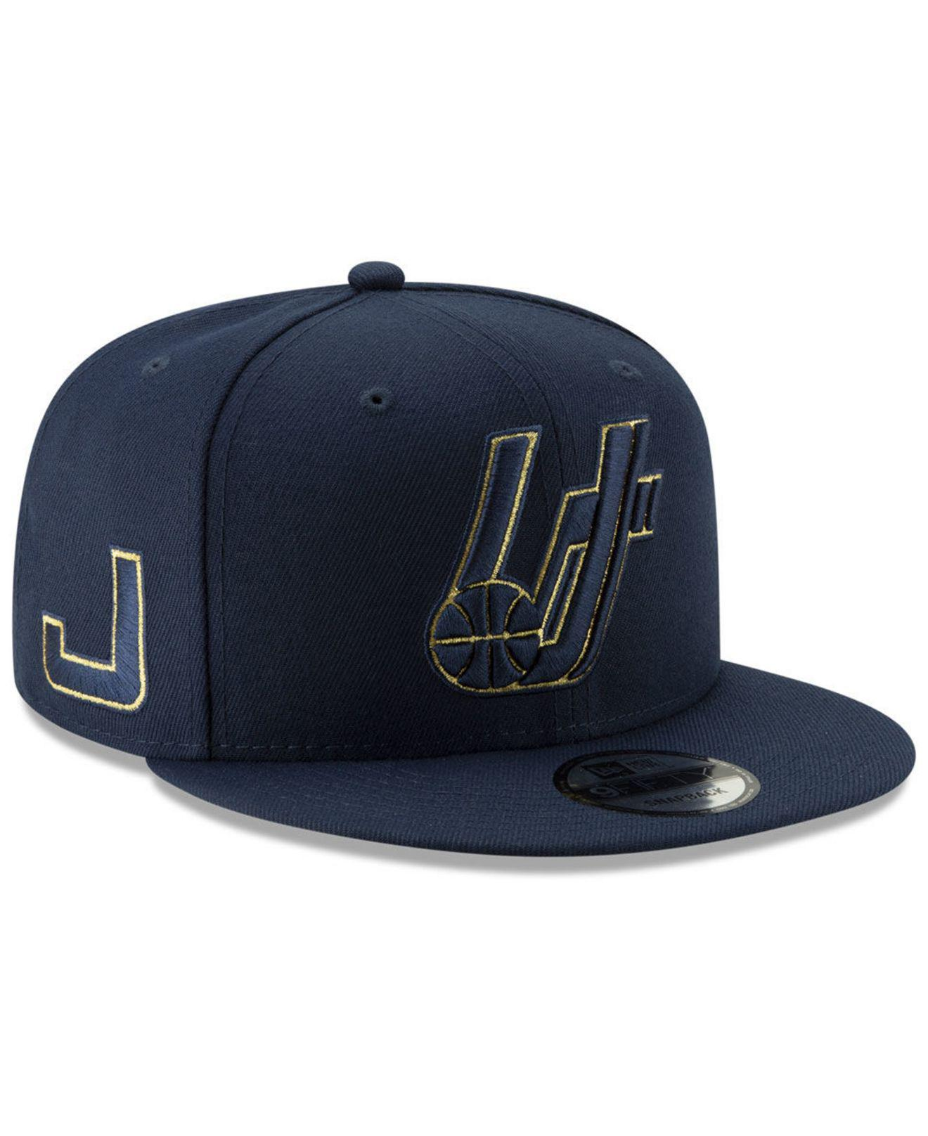 reputable site 9d64a d1ae7 KTZ Utah Jazz Mishmash 9fifty Snapback Cap in Blue for Men - Lyst