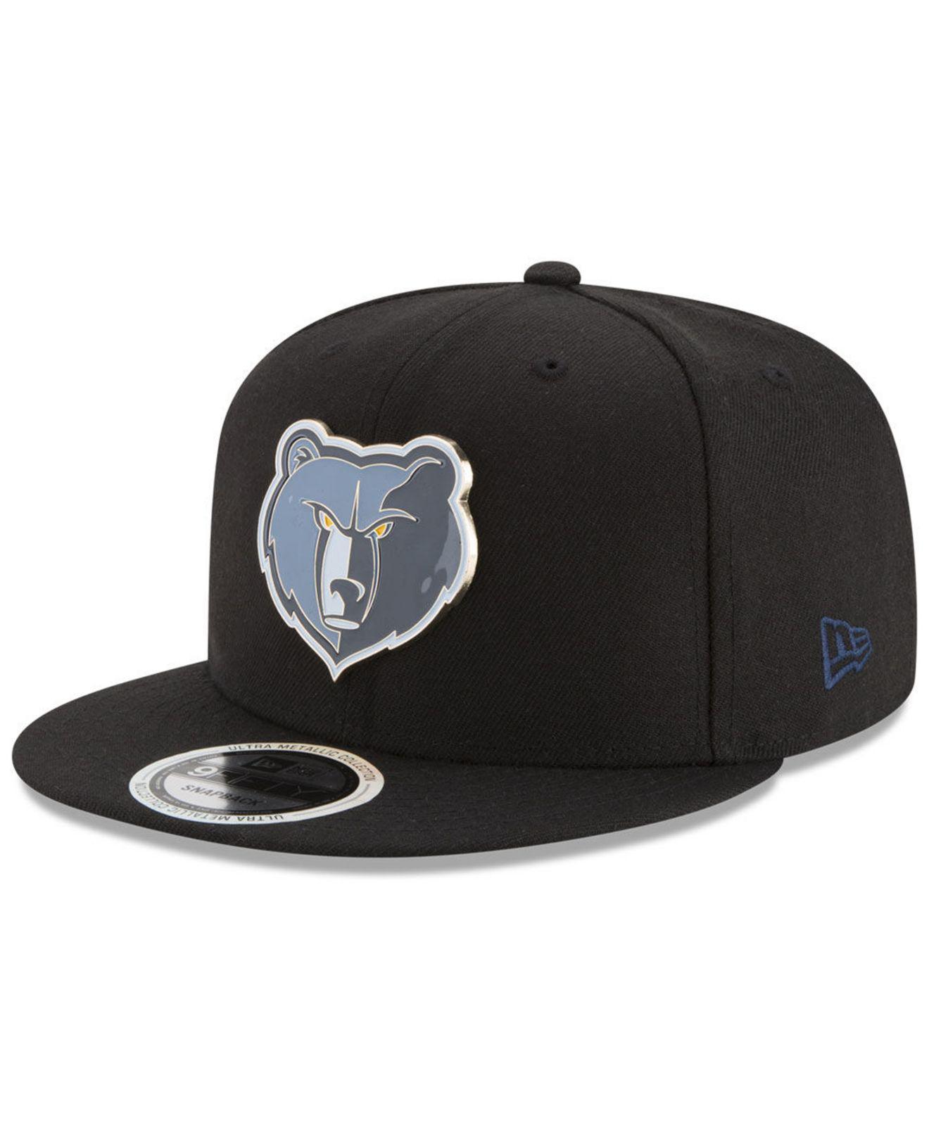 wholesale dealer fa2f2 01988 Lyst - KTZ Memphis Grizzlies Enamel Badge 9fifty Snapback Cap in ...